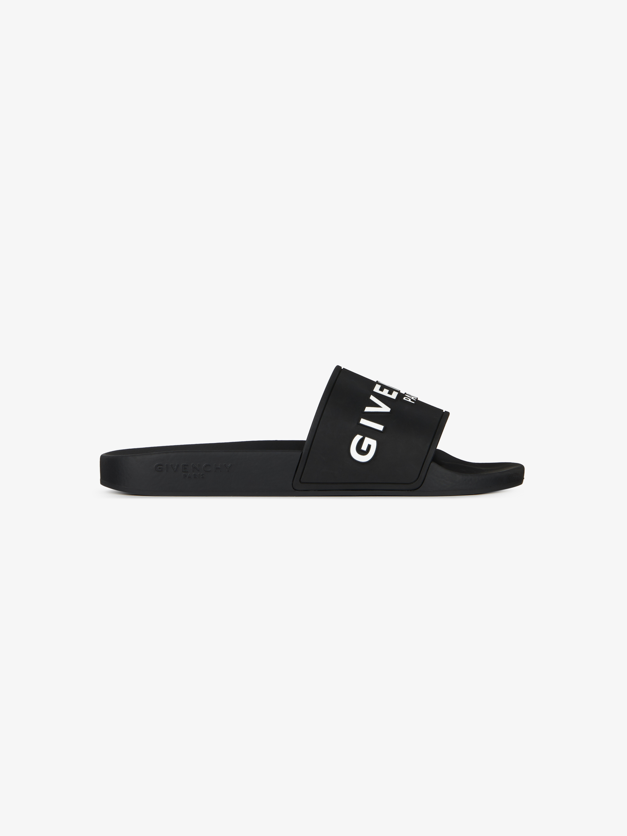 Flat sandals in GIVENCHY PARIS rubber