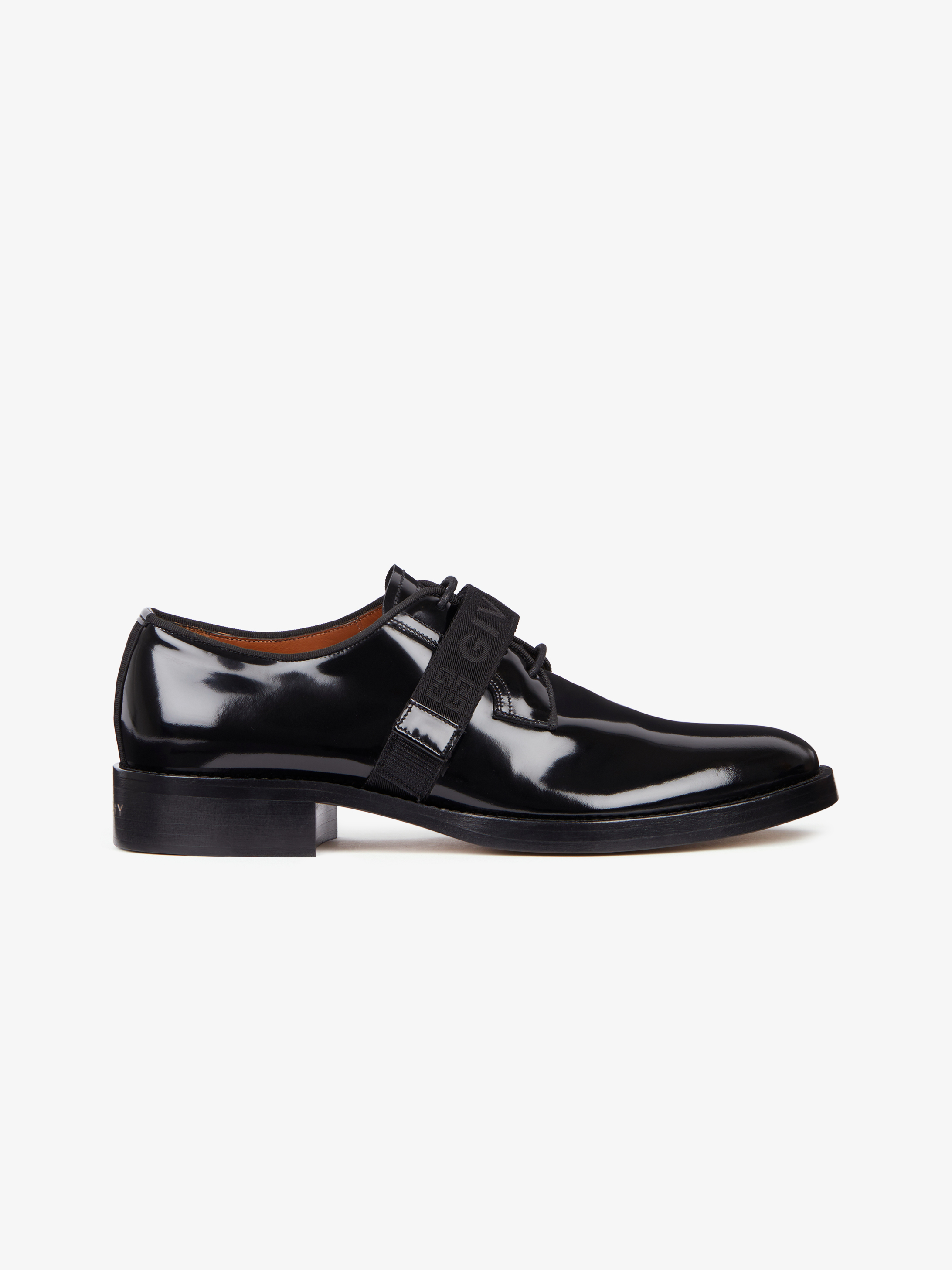 GIVENCHY 4G webbing derby shoes