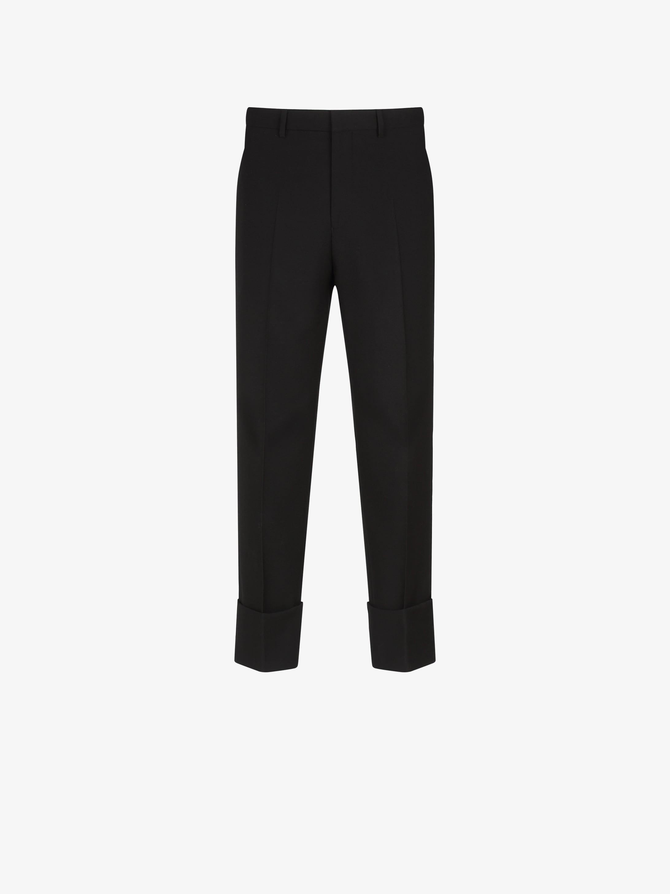 Pantaloni con risvolto Adresse GIVENCHY