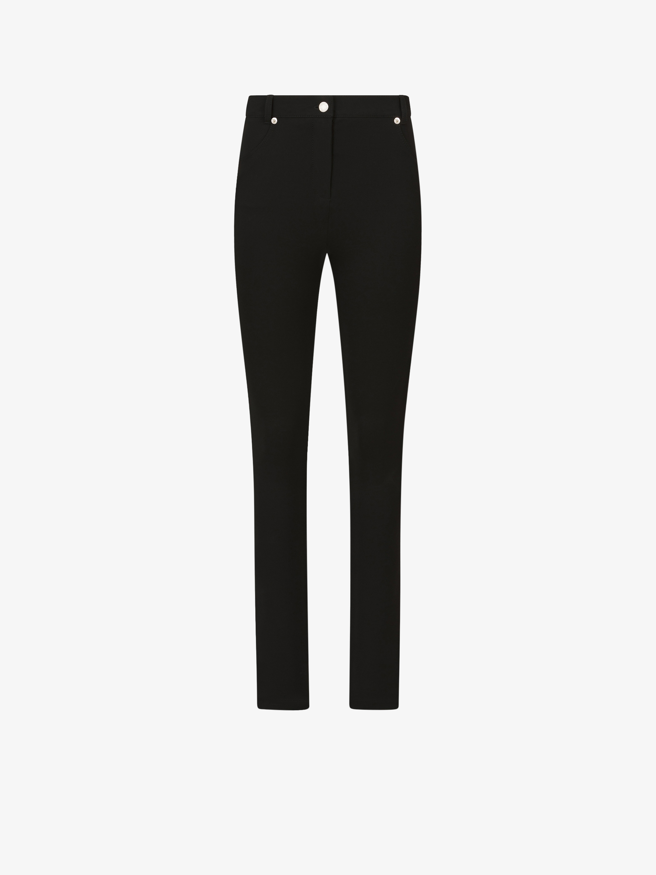 Slim fit stretch pants