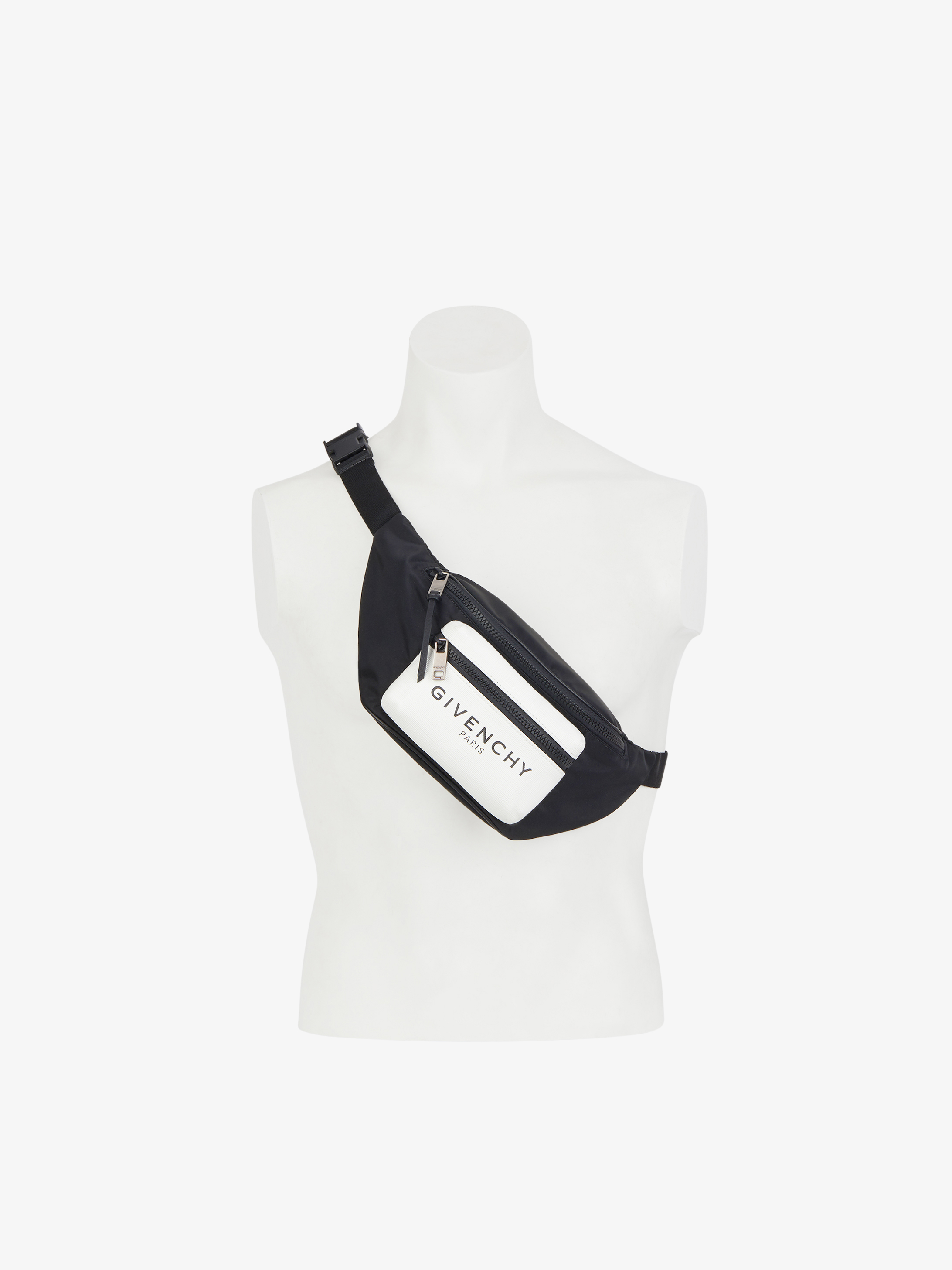 GIVENCHY PARIS bum bag with glow in the dark pocket