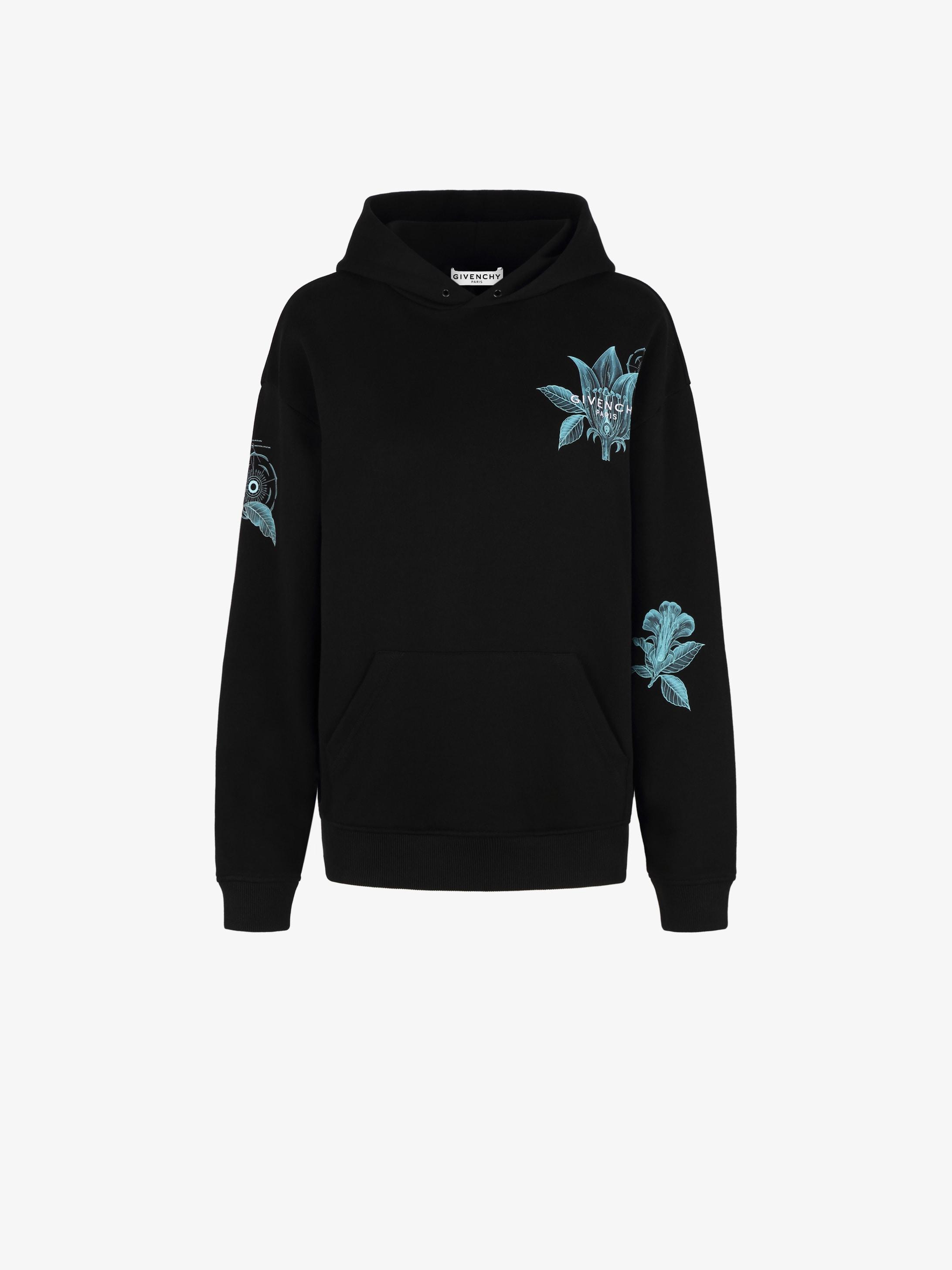 Floral Schematics hoodie