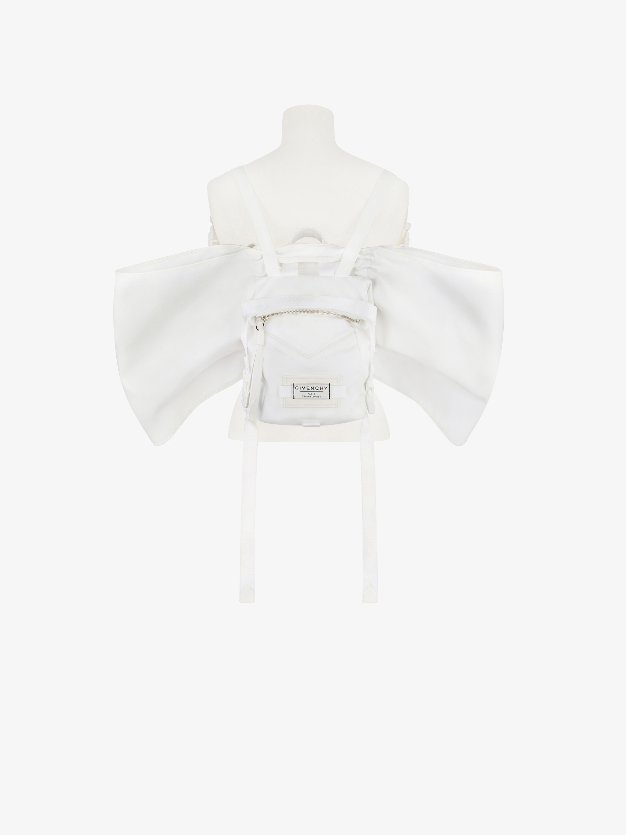 Mini sac à dos GIVENCHY Downtown en nylon avec ailes
