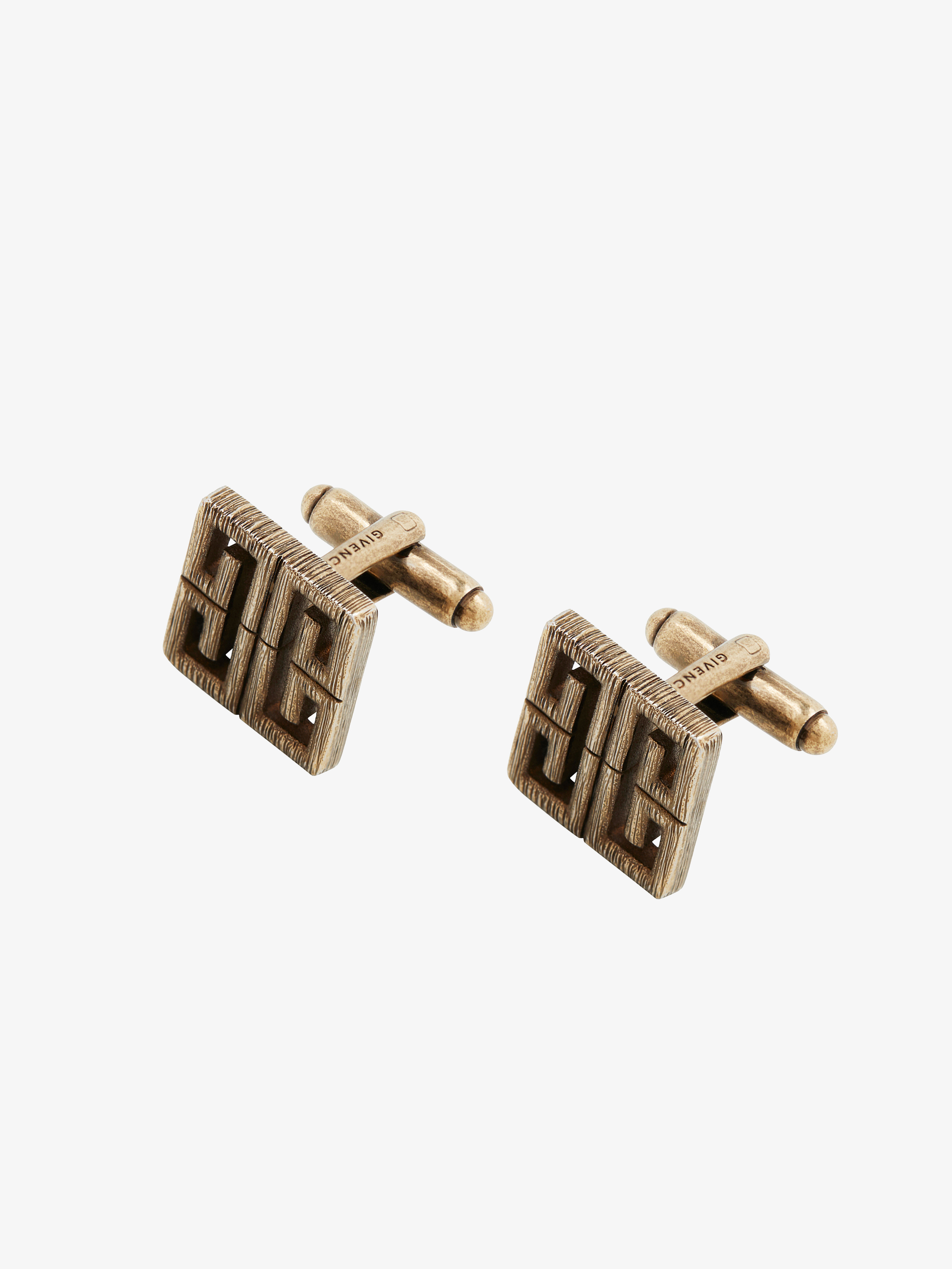 4G brass cufflinks