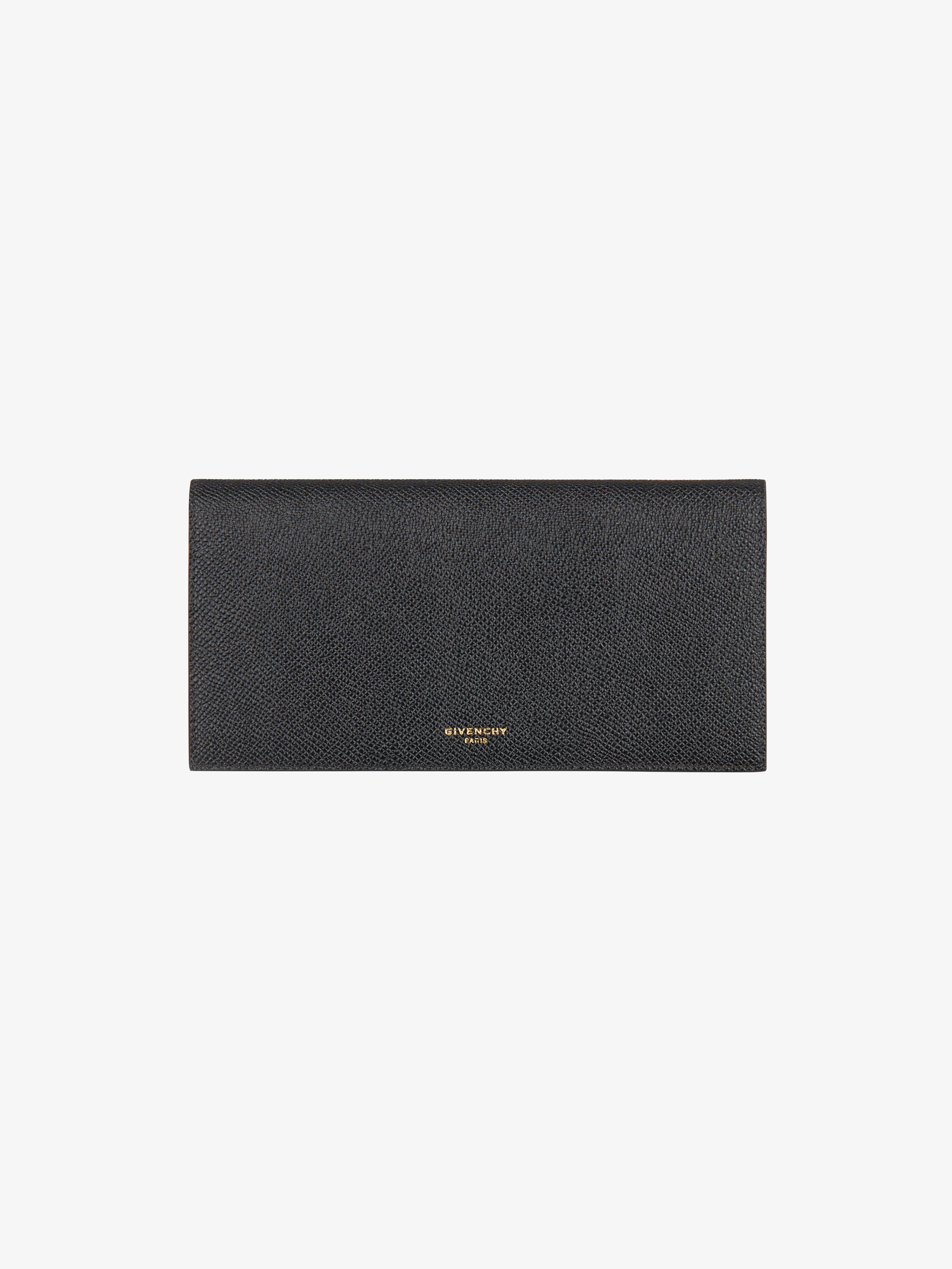 Eros long flap wallet in leather