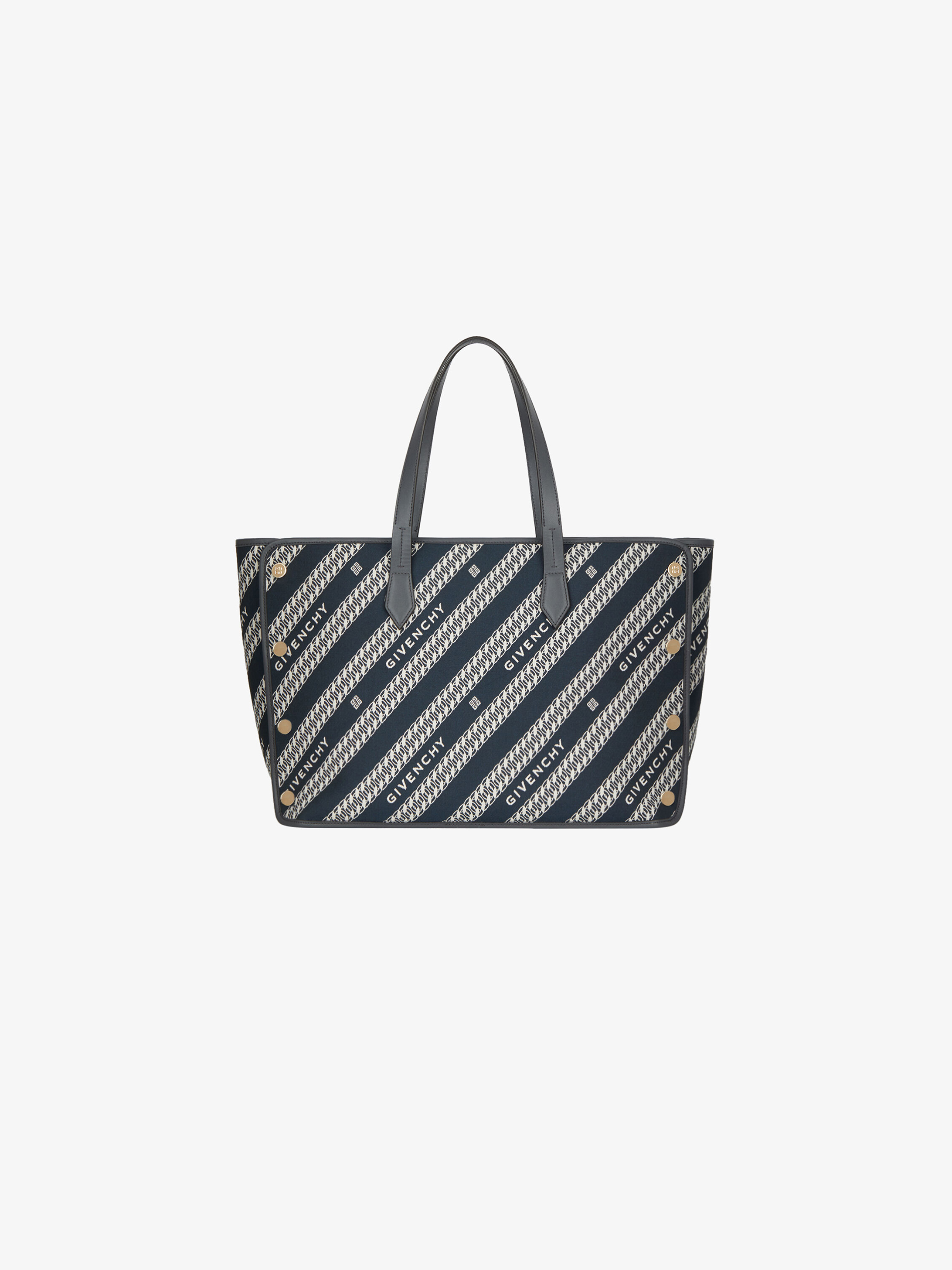 Medium BOND shopper in GIVENCHYcanvas chain jacquard