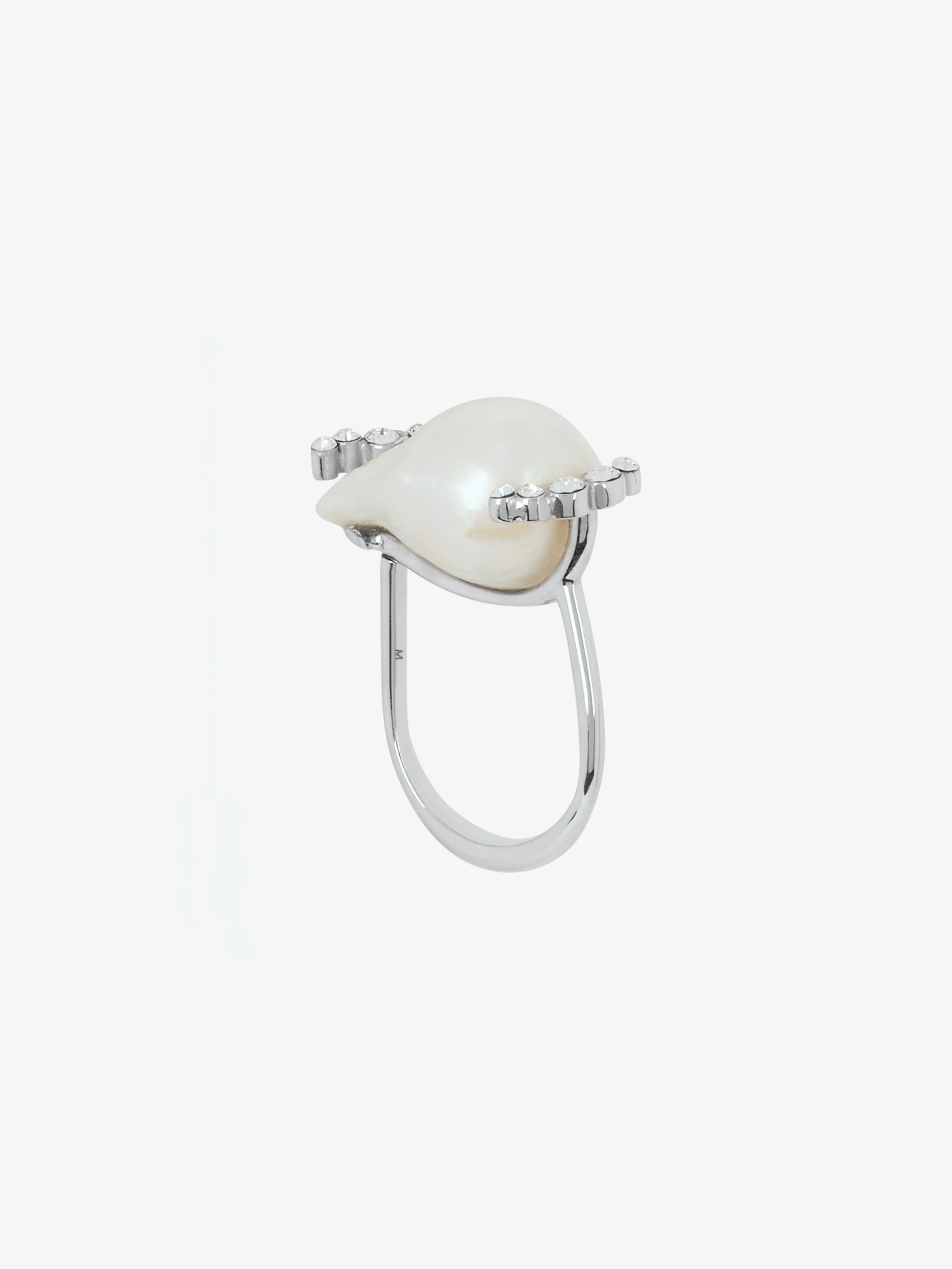 Midnight Pearl ring