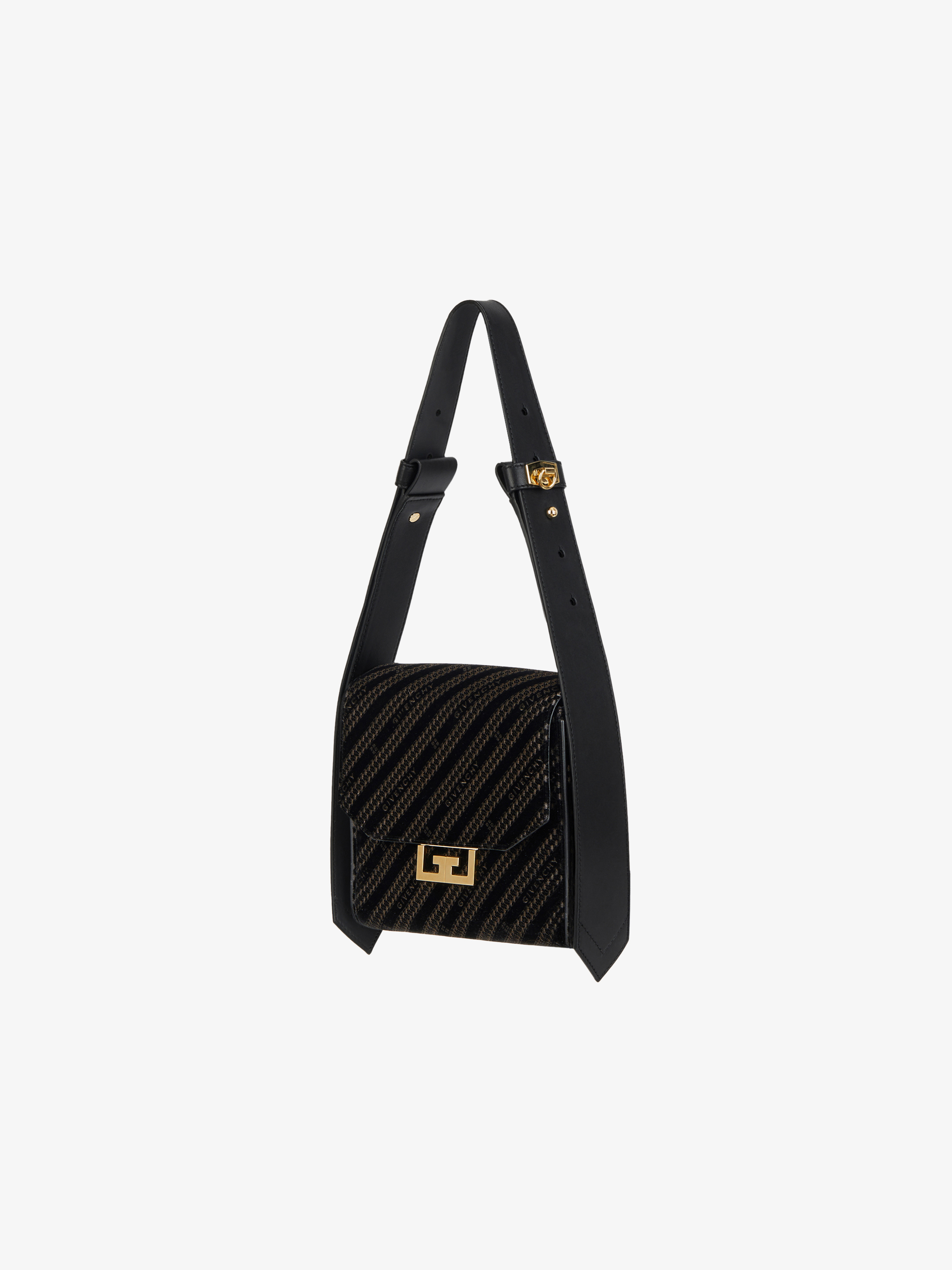 GIVENCHY chain small Eden bag in velvet
