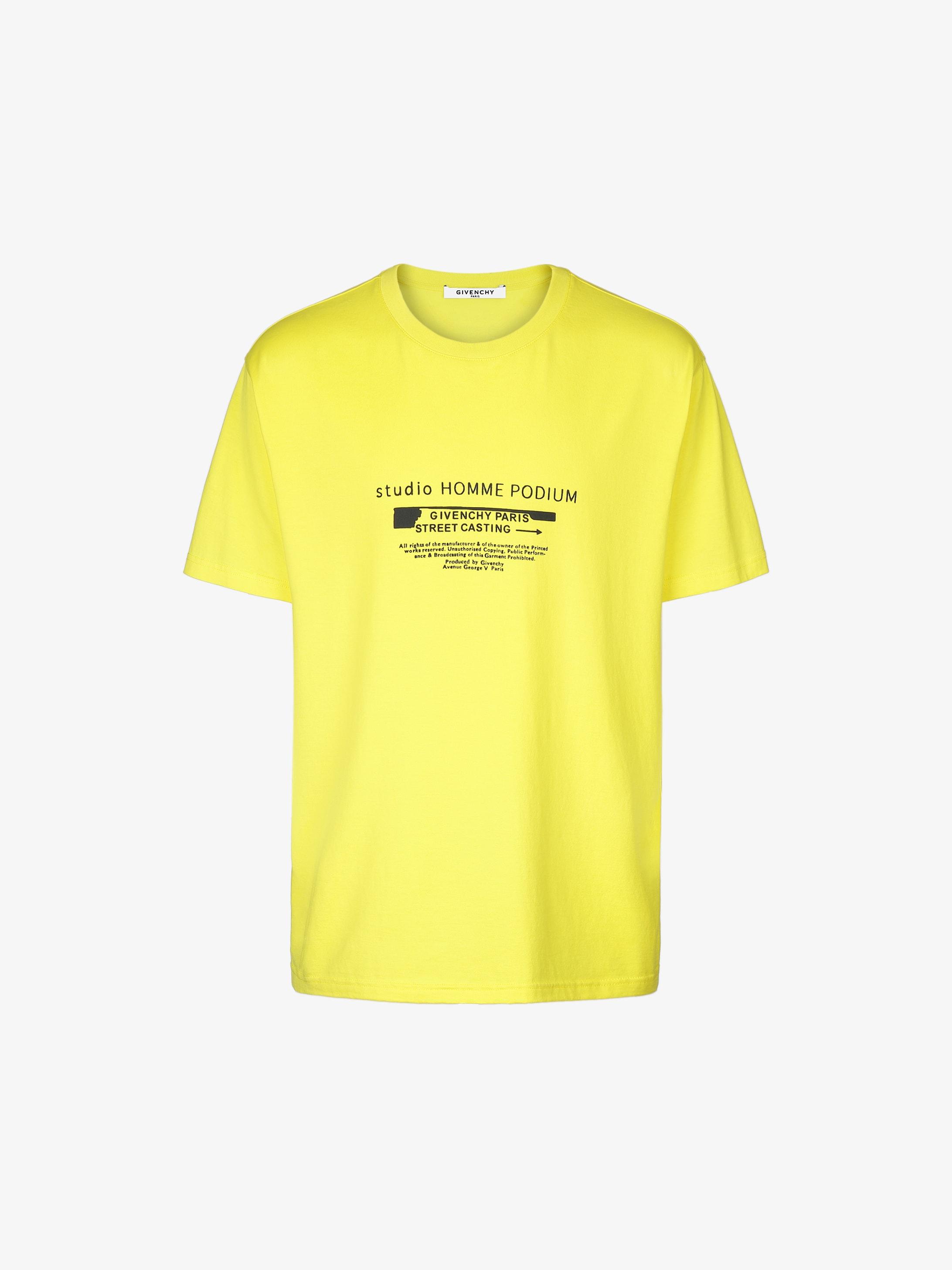 T-shirt imprimé GIVENCHY