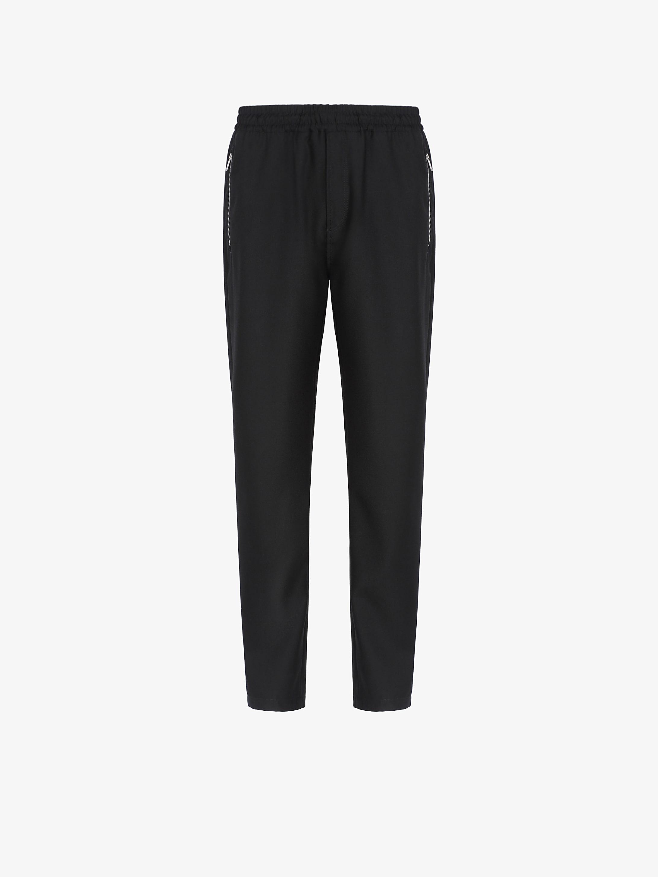 GIVENCHY ADDRESS jogger pants in nylon