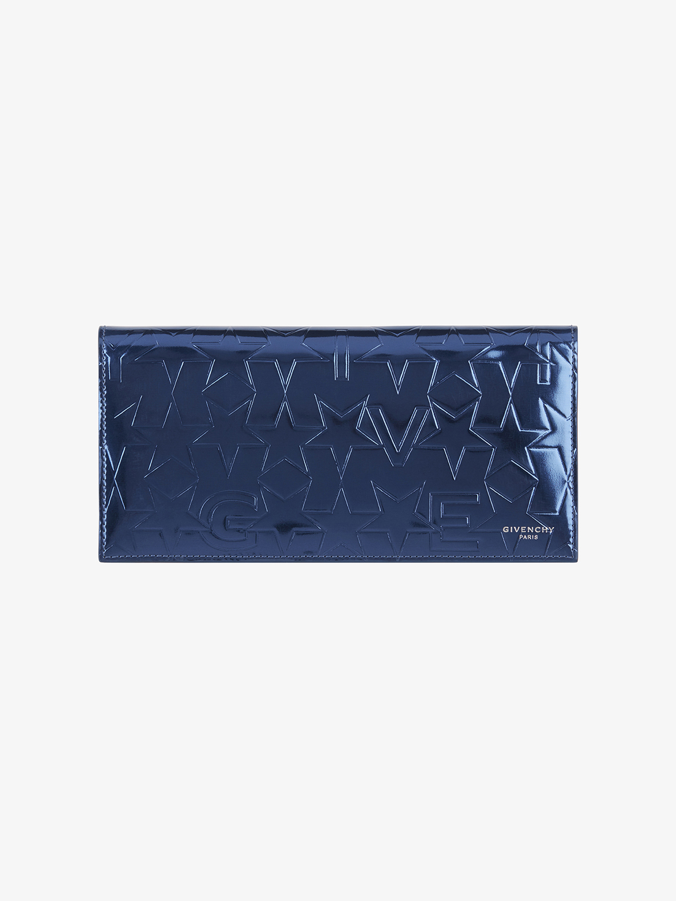 GIVENCHY & Stars embossed wallet in leather