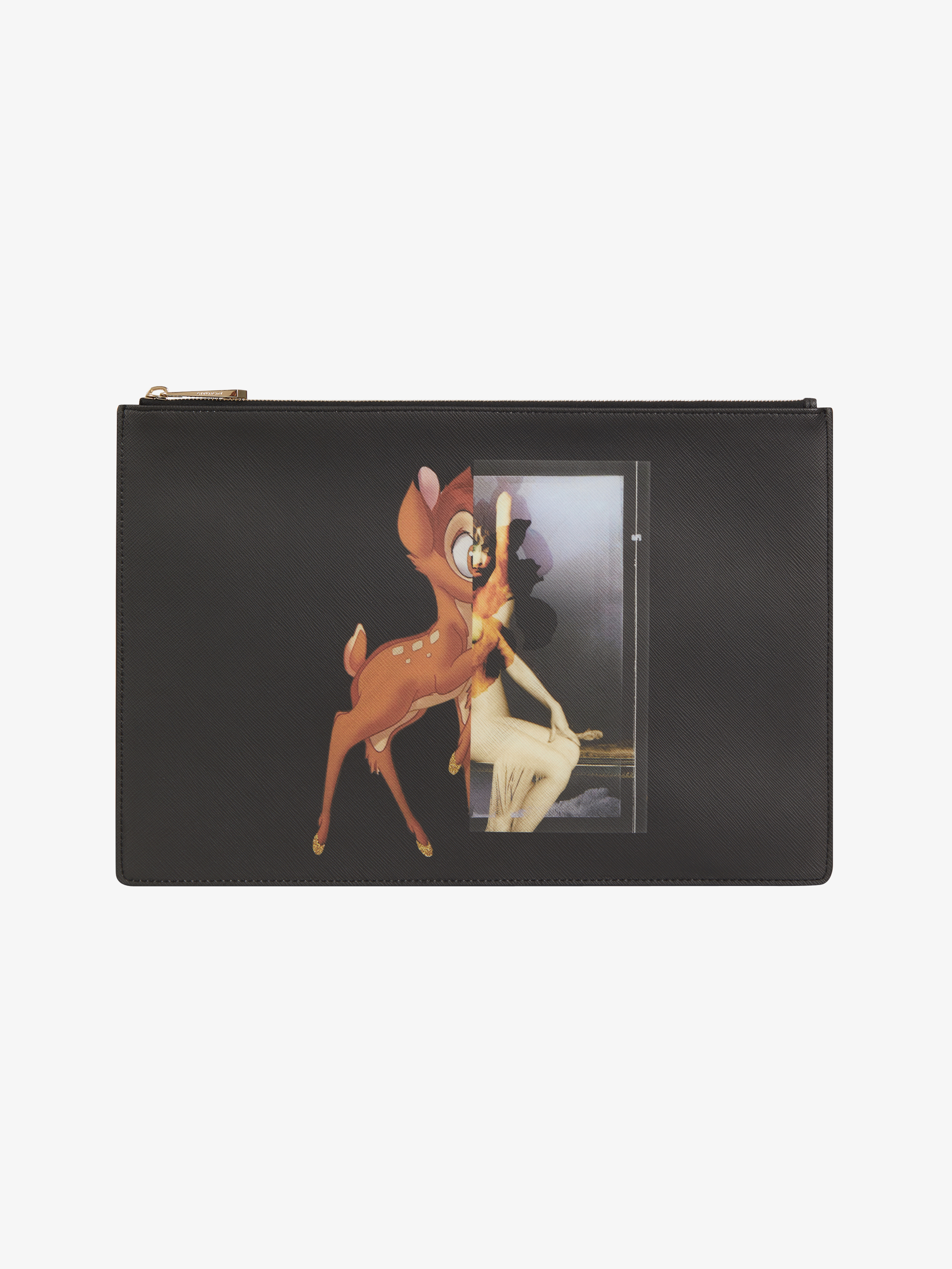 Bambi Printed large pouch