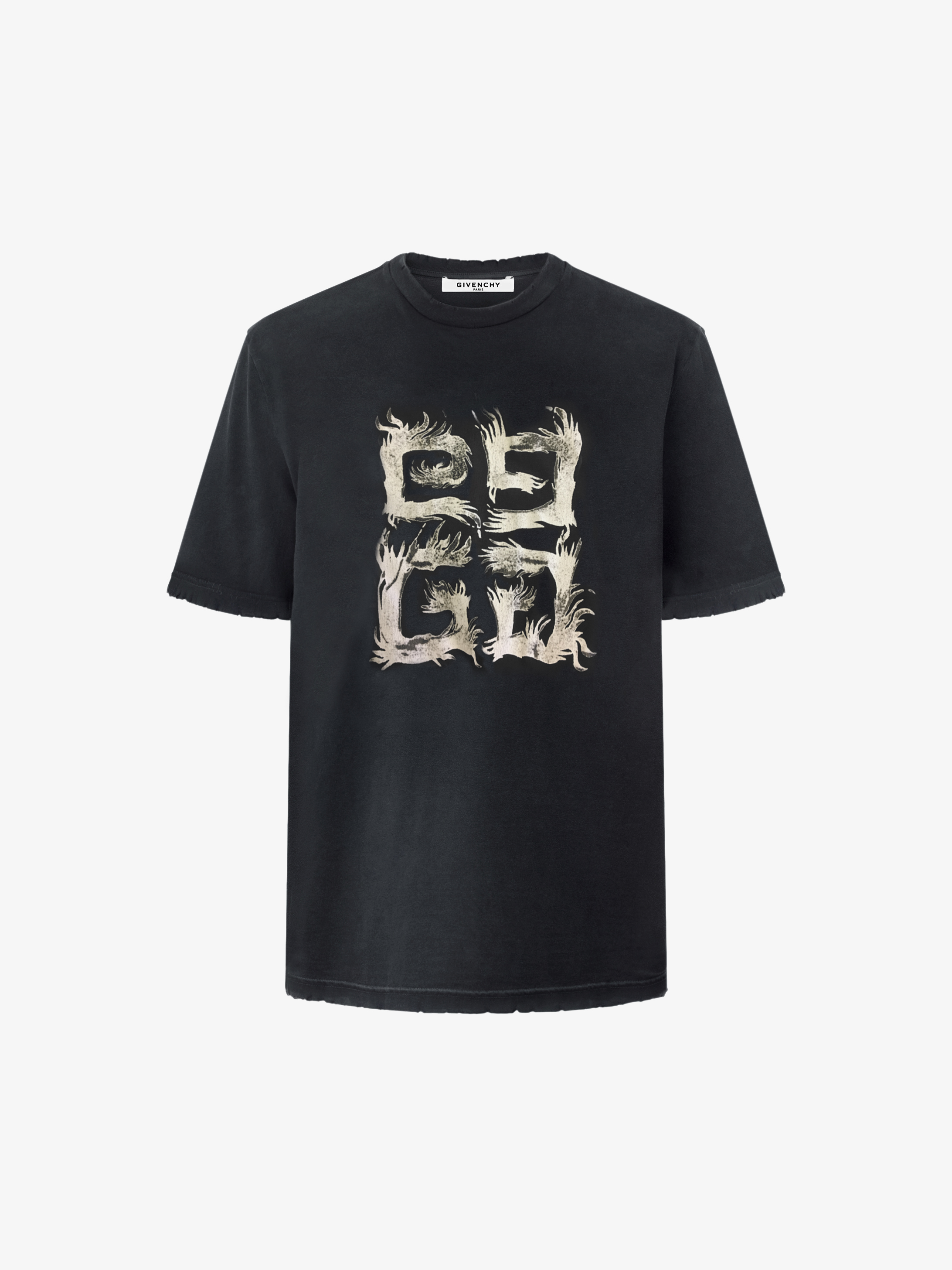 Well-known Slim fit 4G t-shirt | GIVENCHY Paris SU17