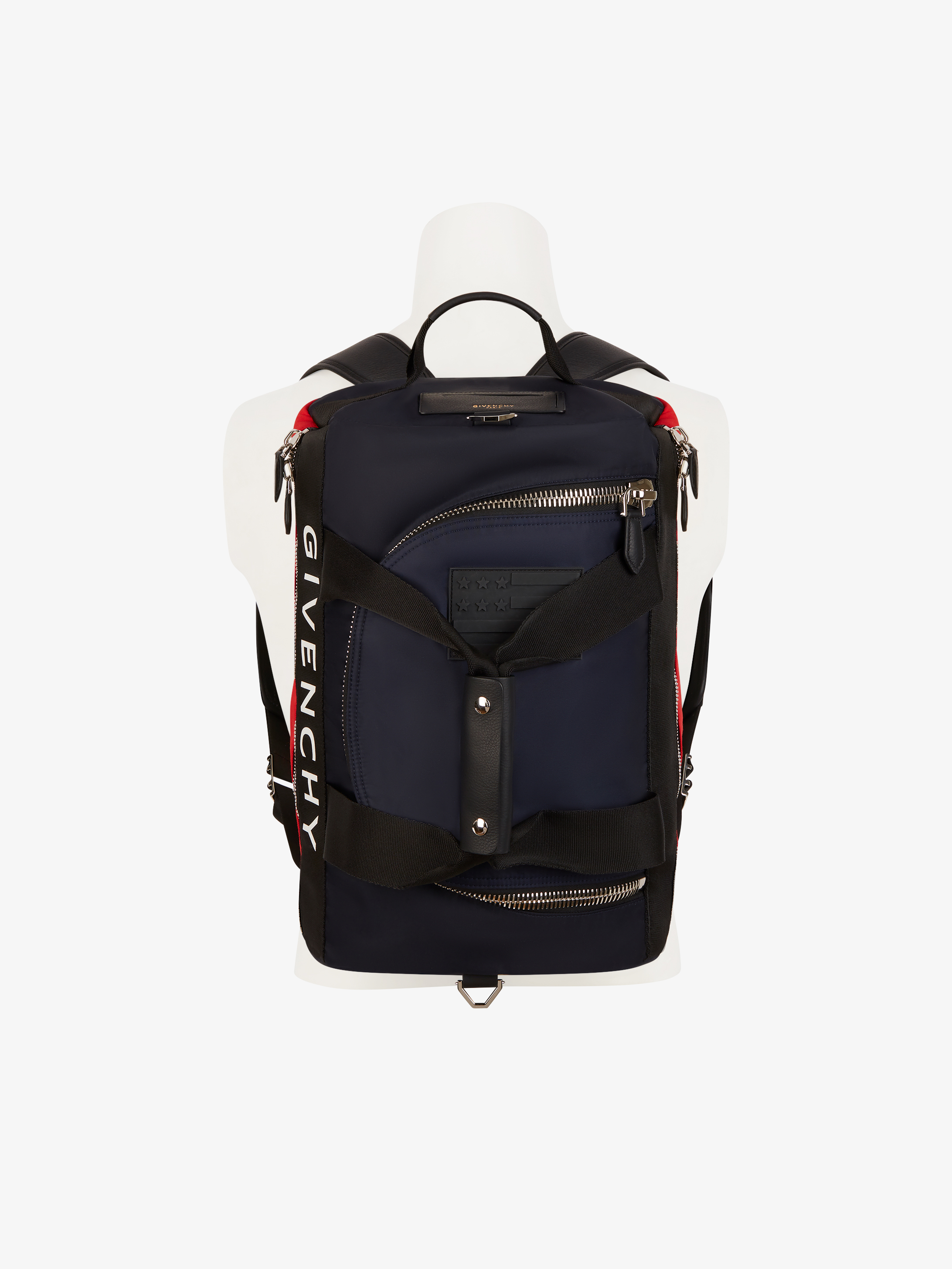 Backpack with GIVENCHY webbing band