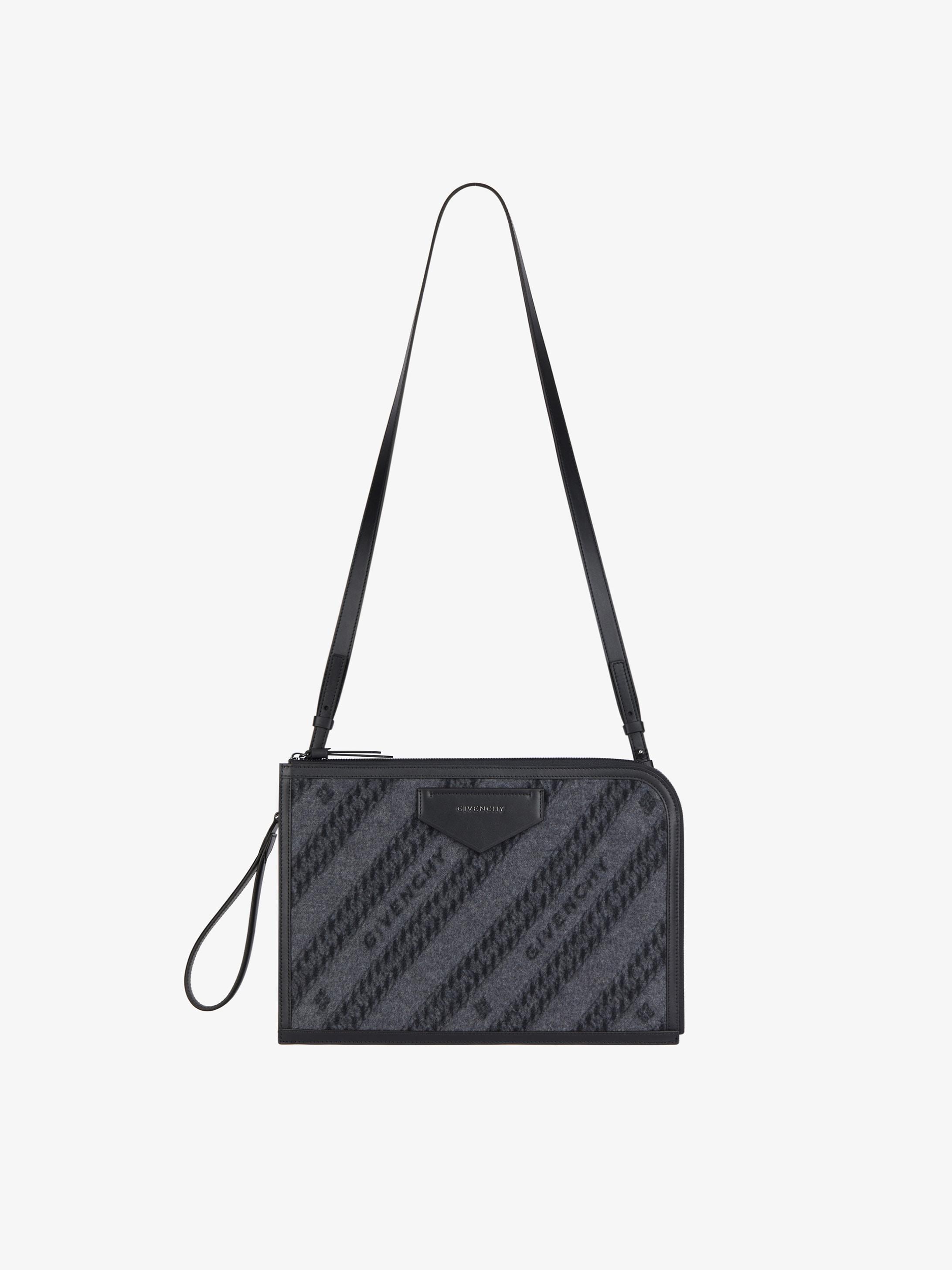 Antigona Soft flat bag in wool