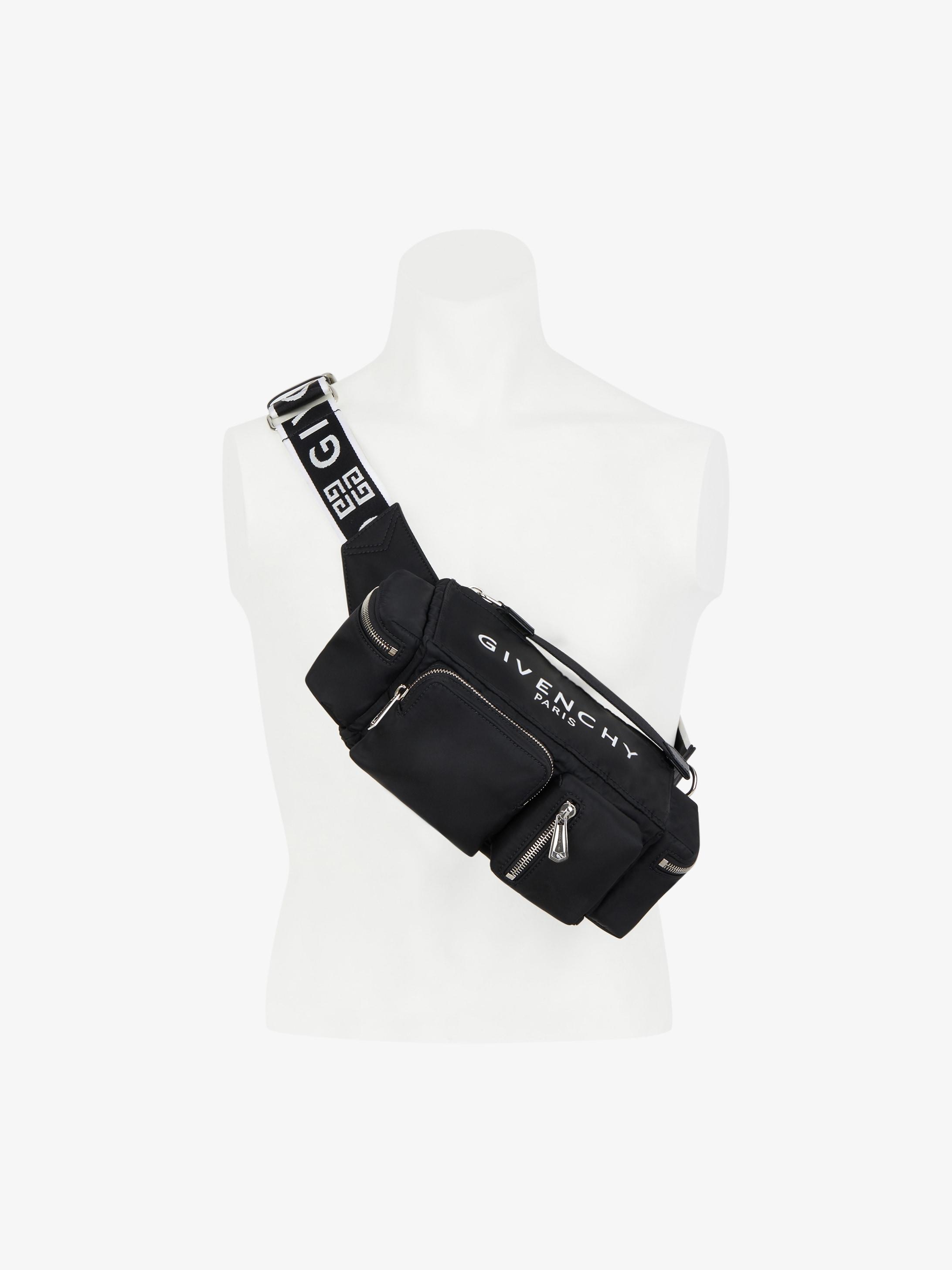 Pandora multipockets crossbody bag  in nylon