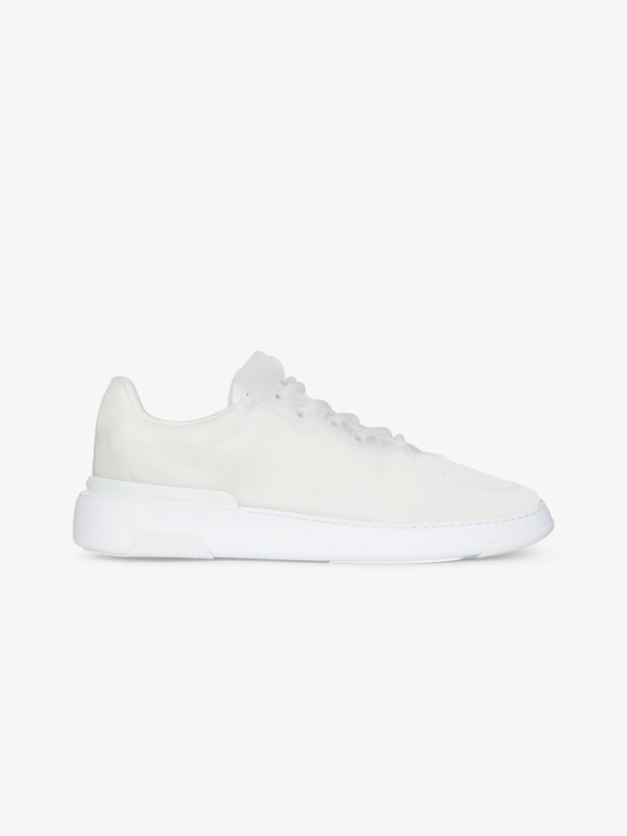 Sneakers basses Wing transparentes