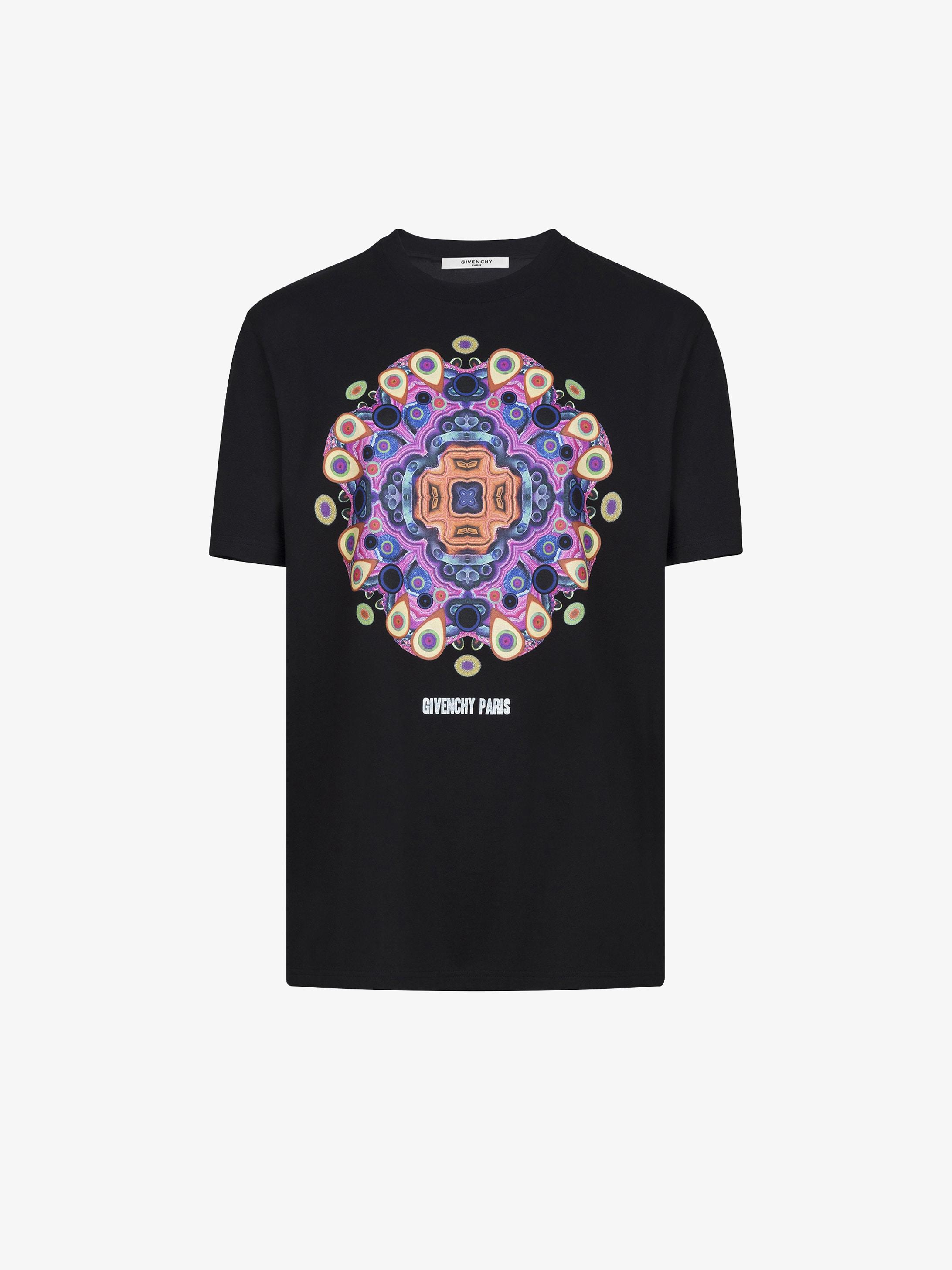 T-shirt oversized  imprimé Mandala