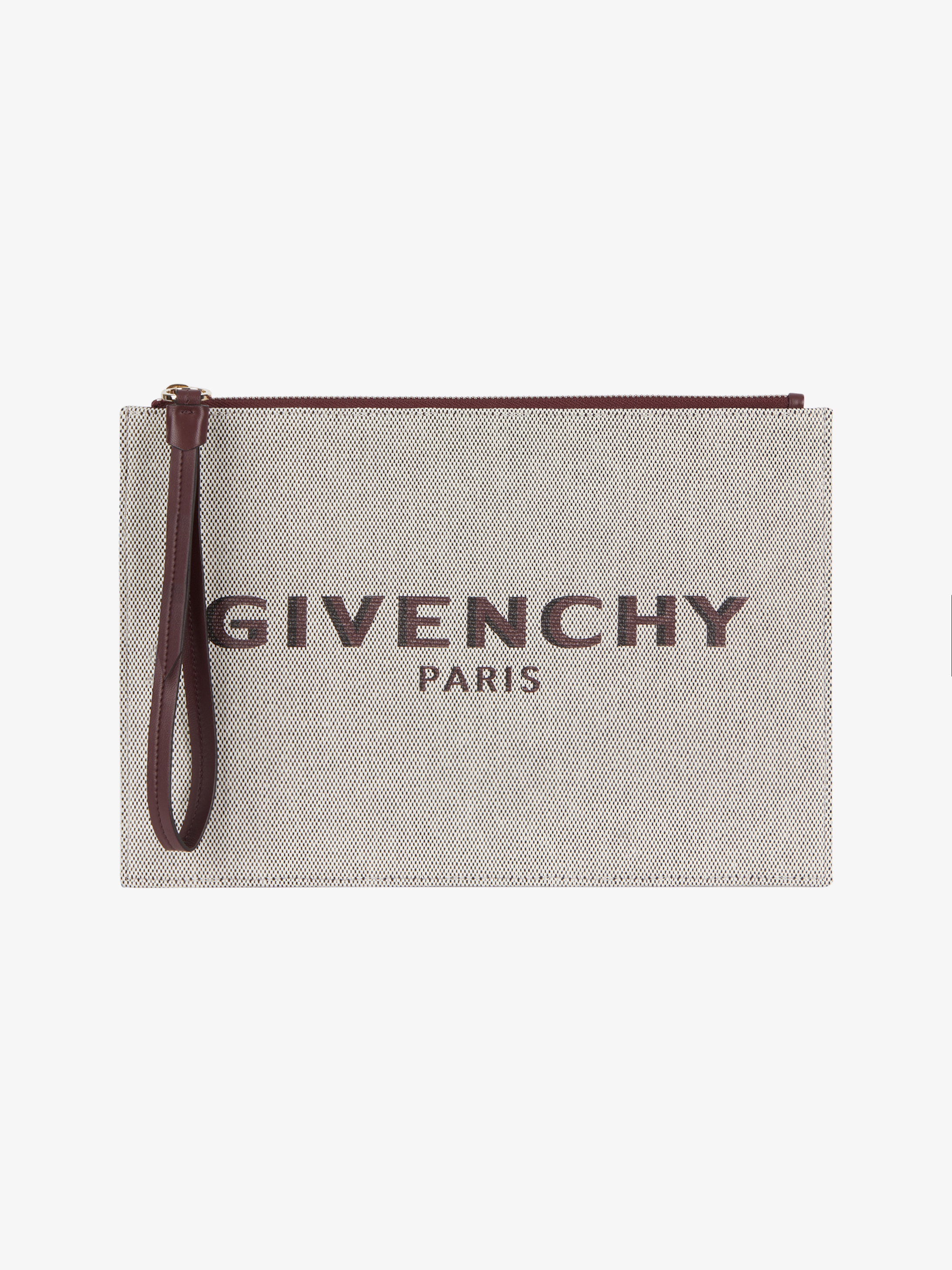 Medium GIVENCHY PARIS pouch in canvas