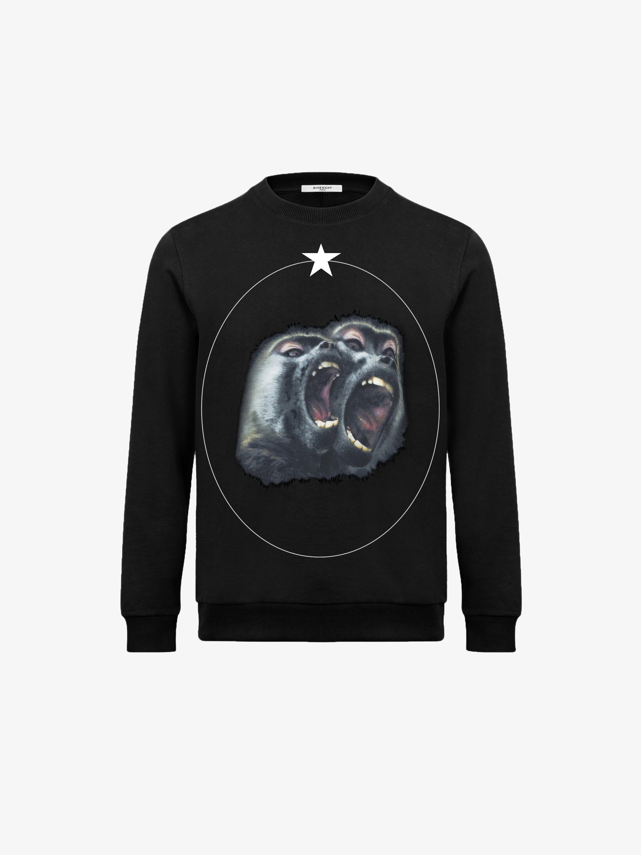 Monkey Brothers 印花运动衫