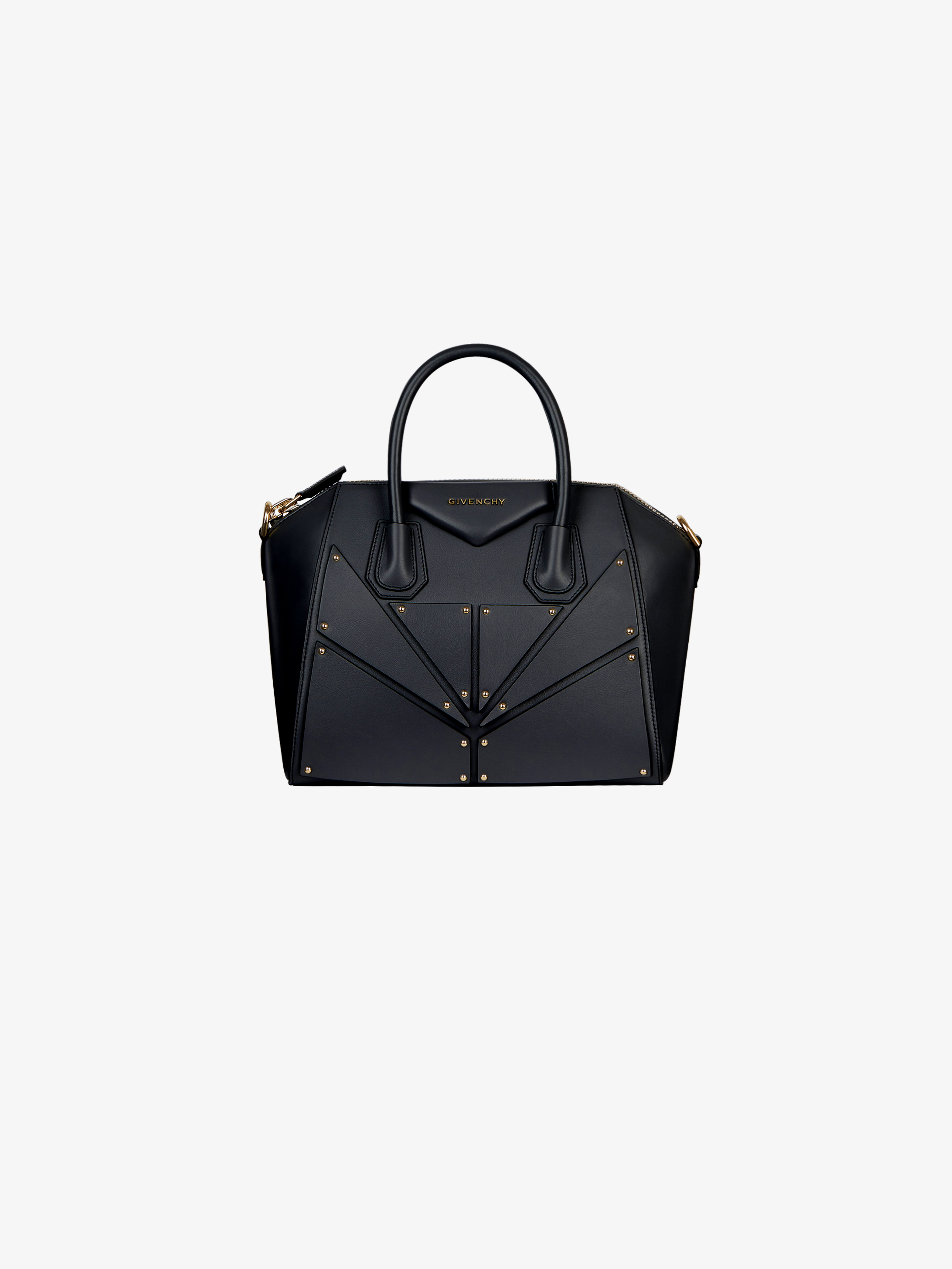 Small Antigona bag in patch leather