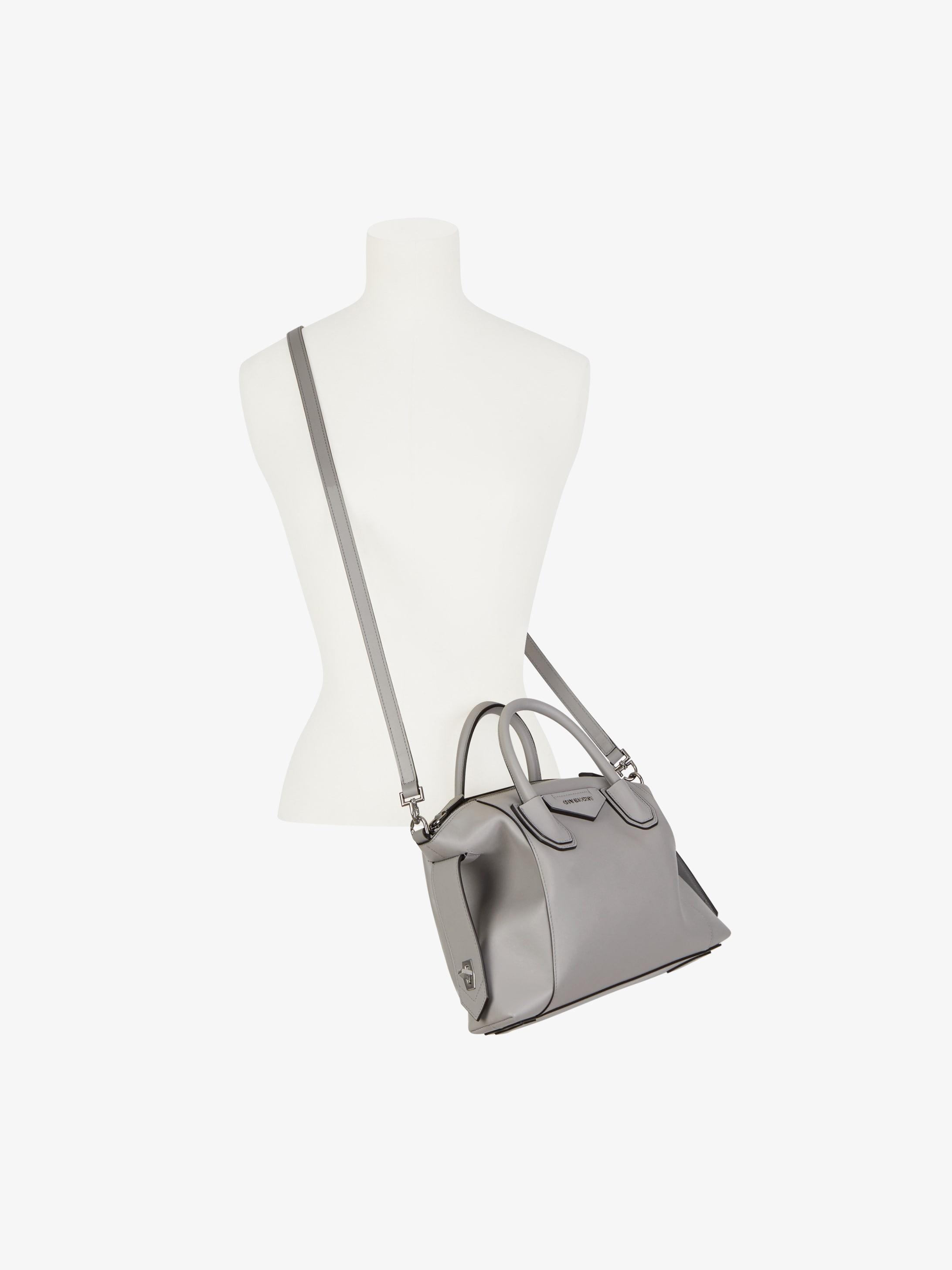 Small Antigona Soft bag in smooth leather