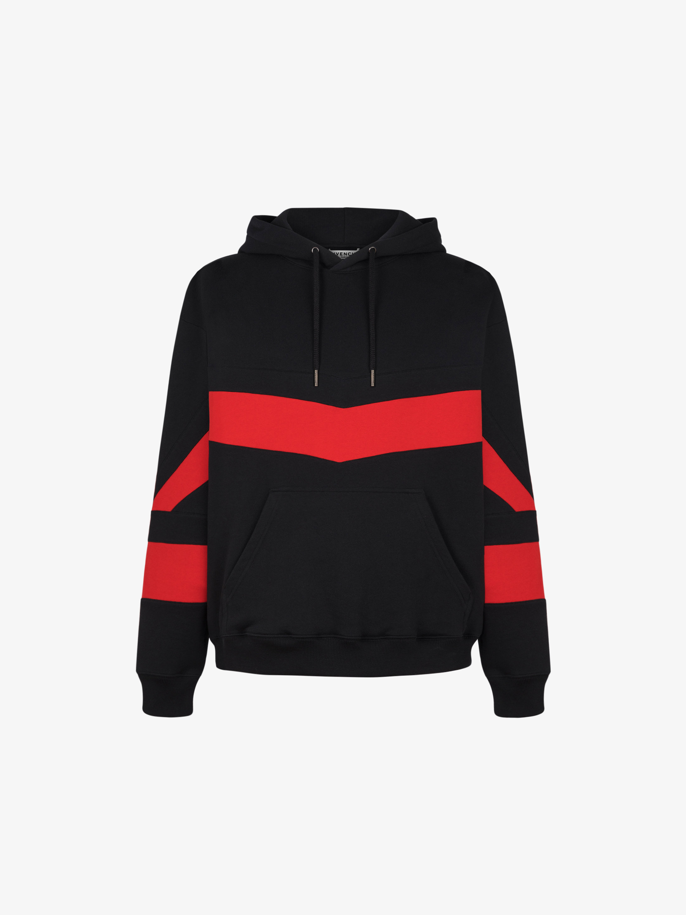 GIVENCHY hoodie with contrasting stripes