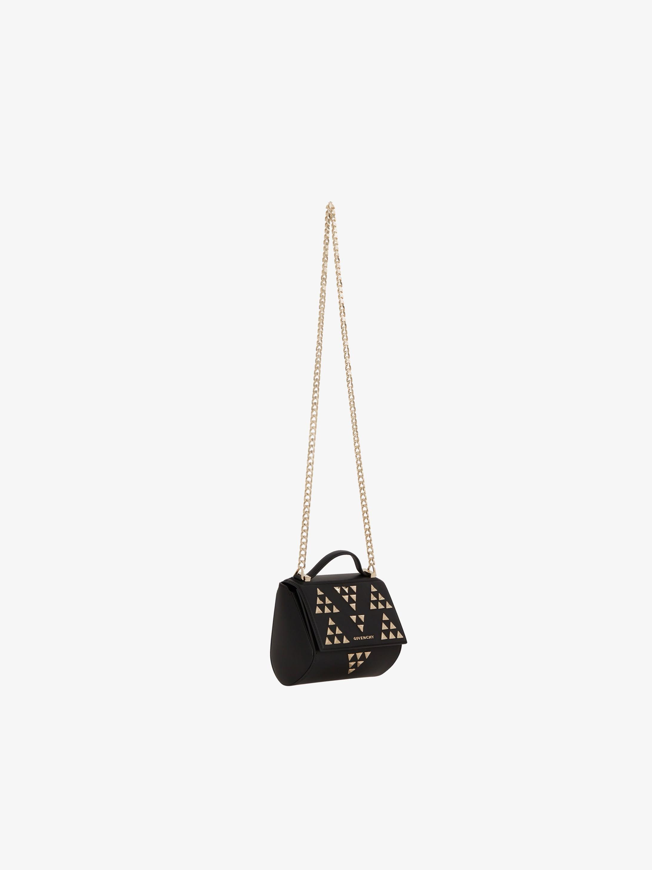 34587362d88f Mini studded Pandora Box chain bag