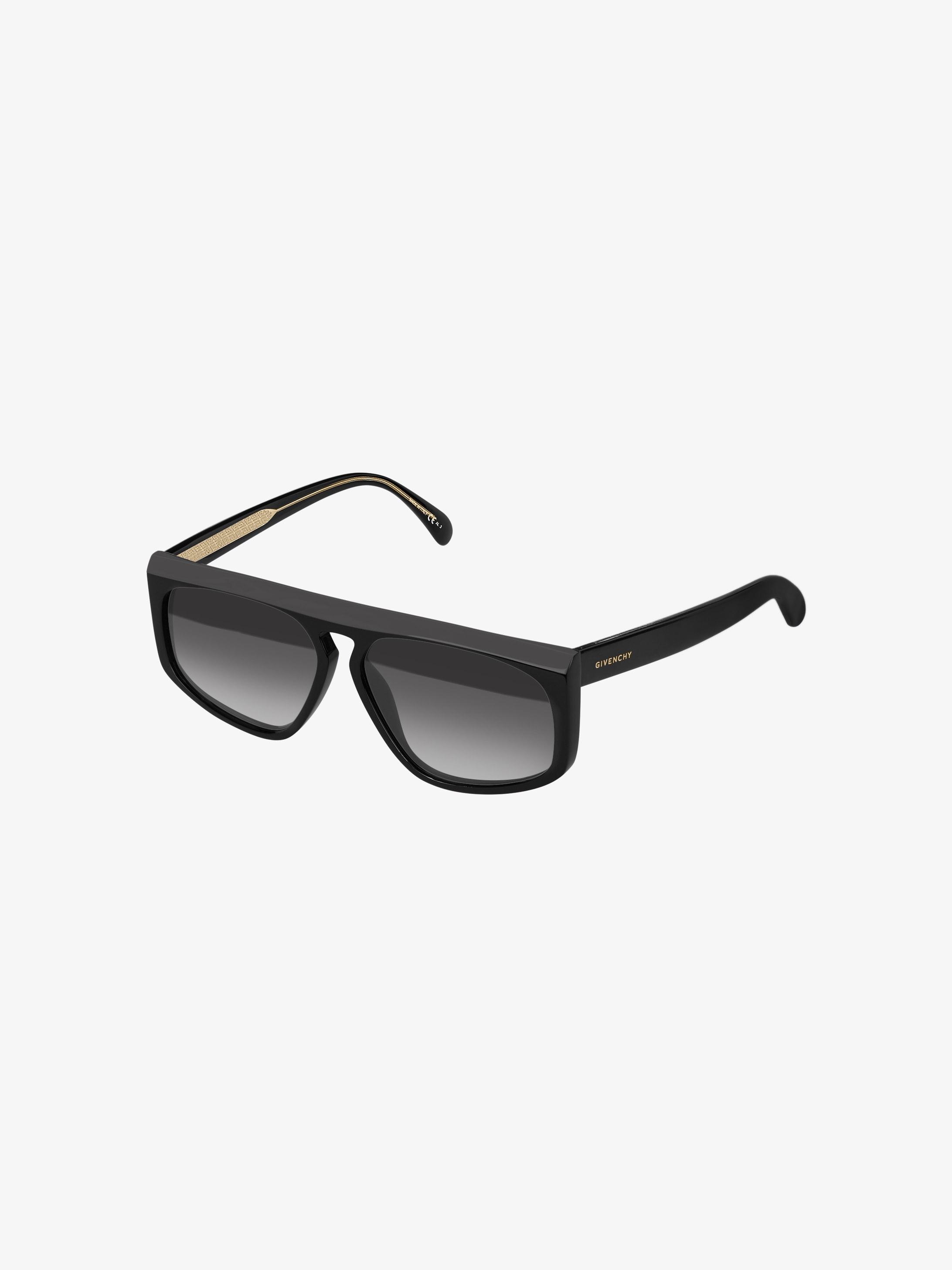 Graphic sunglasses in acetate