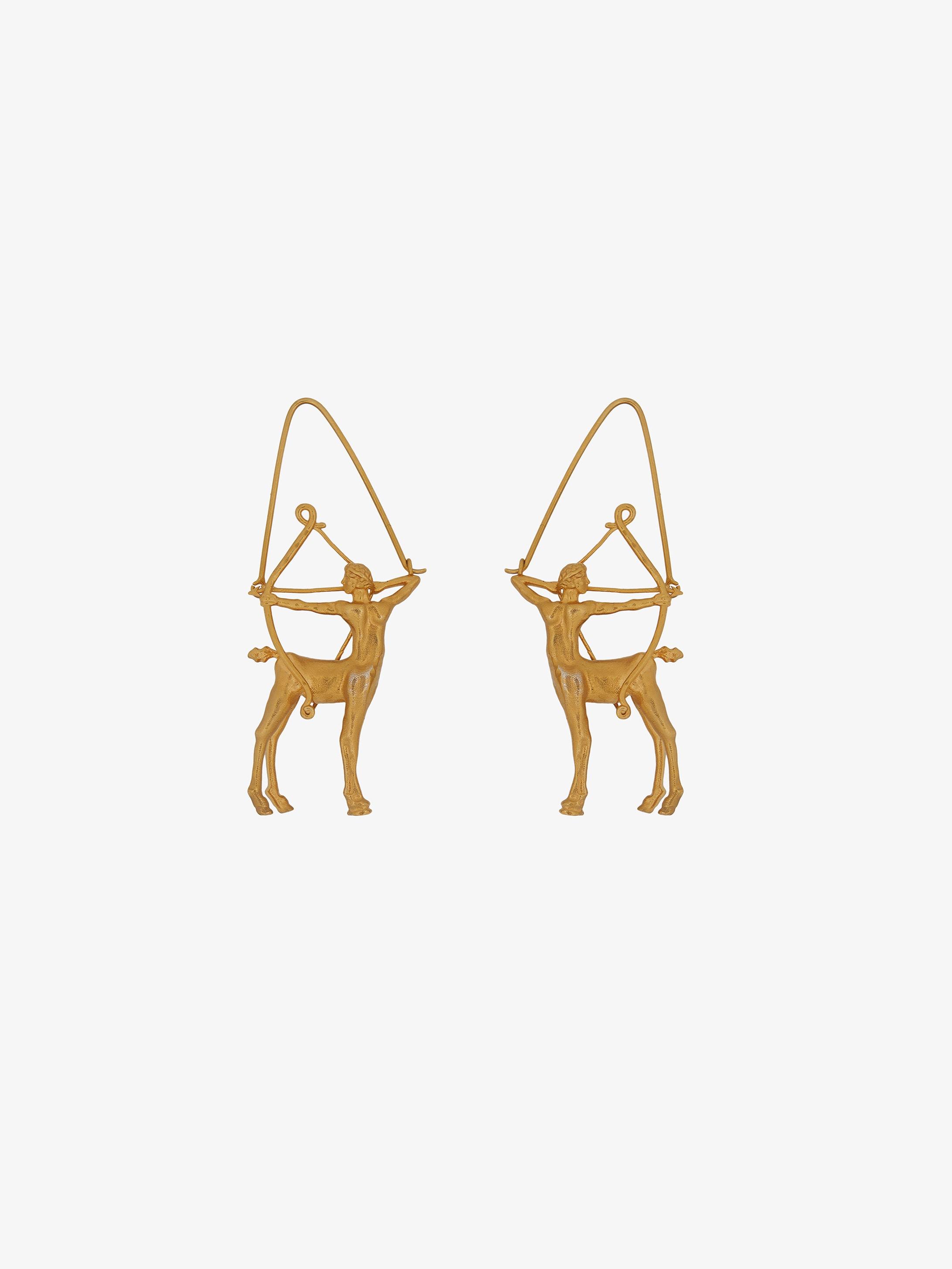 Boucles d'oreilles Zodiaque Sagittaire