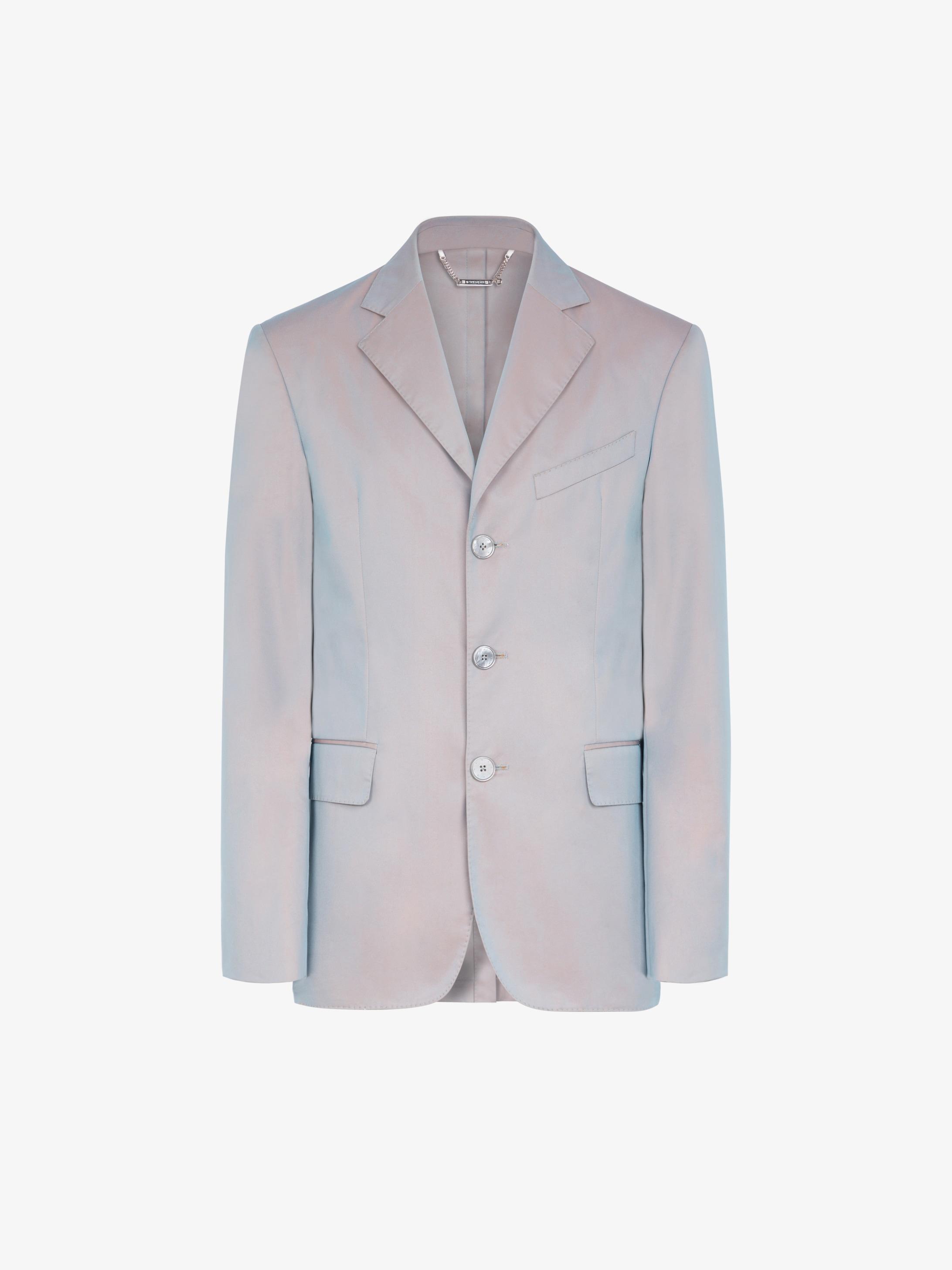 霓虹科技面料棉质夹克