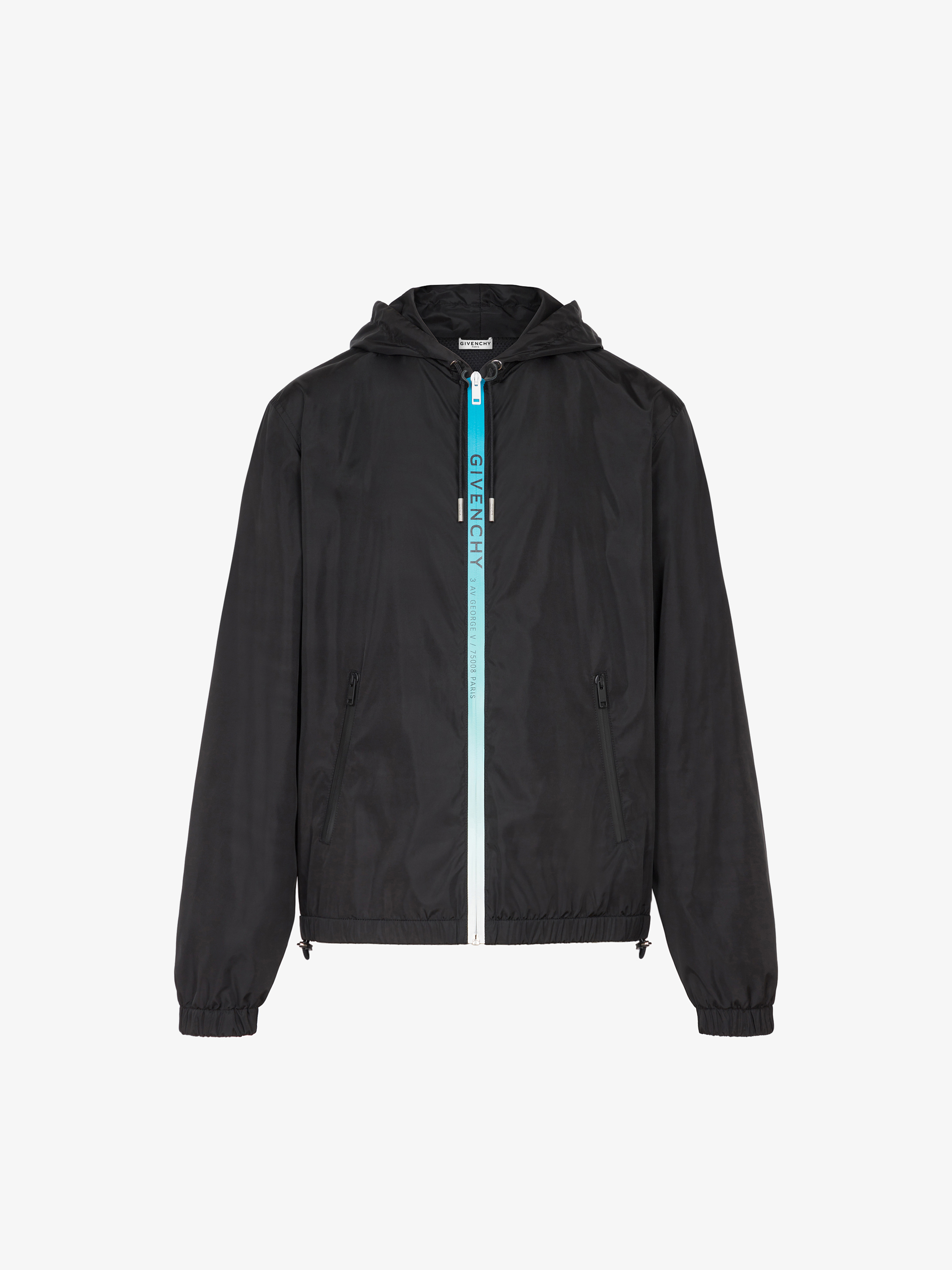 GIVENCHY Rings printed windbreaker in nylon