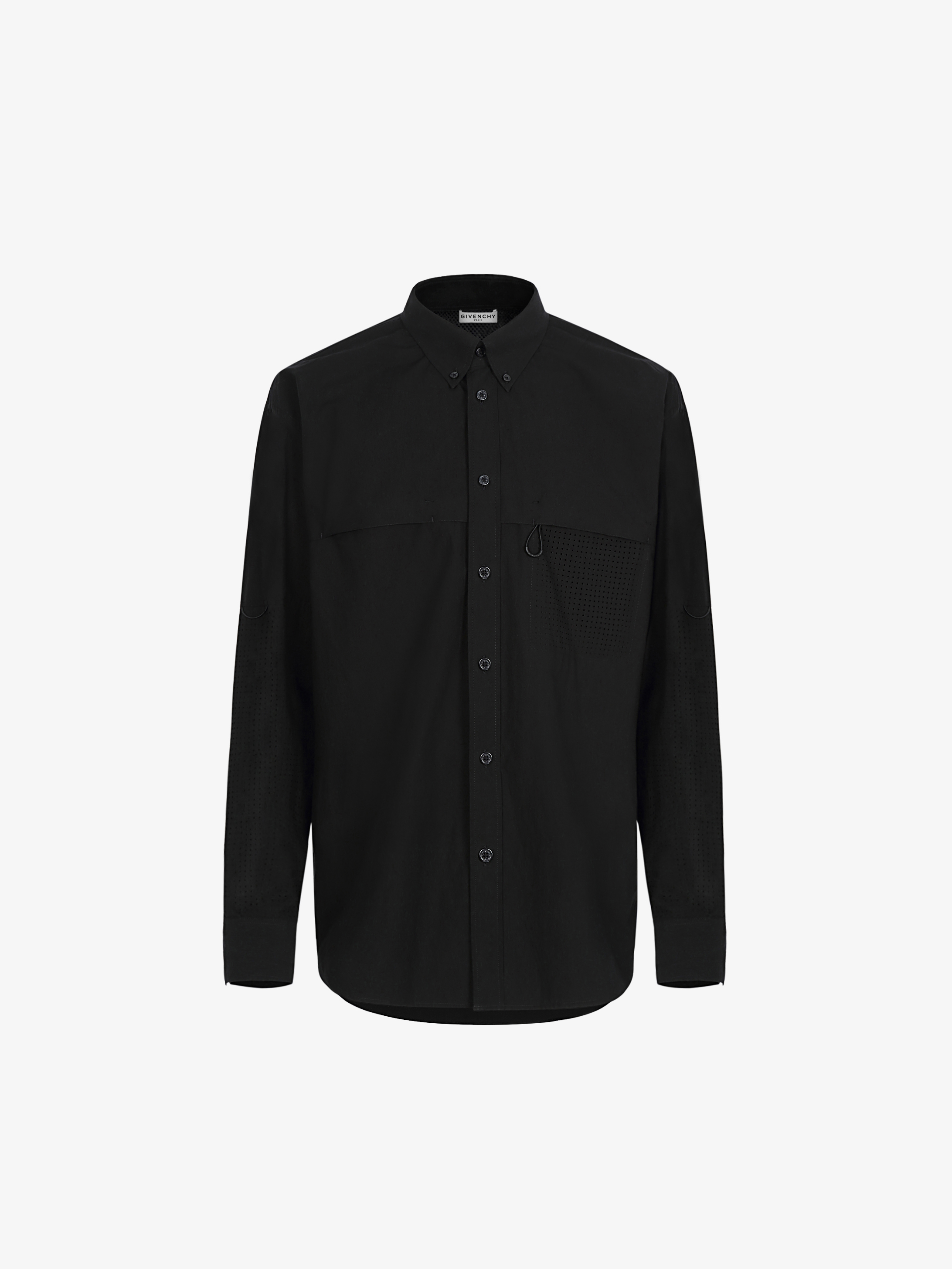 GIVENCHY perforated shirt in cotton