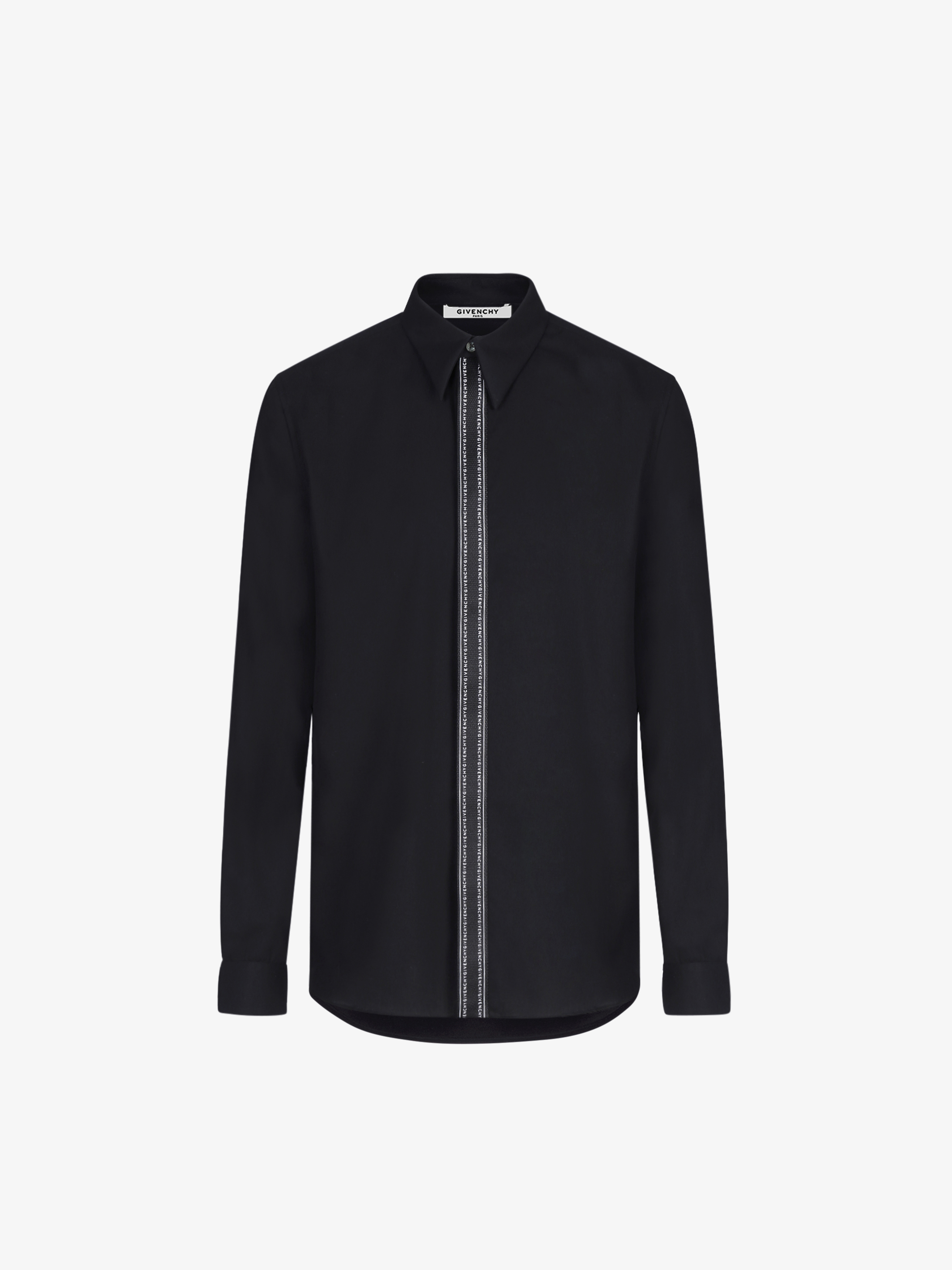 GIVENCHY webbing shirt in cotton twill