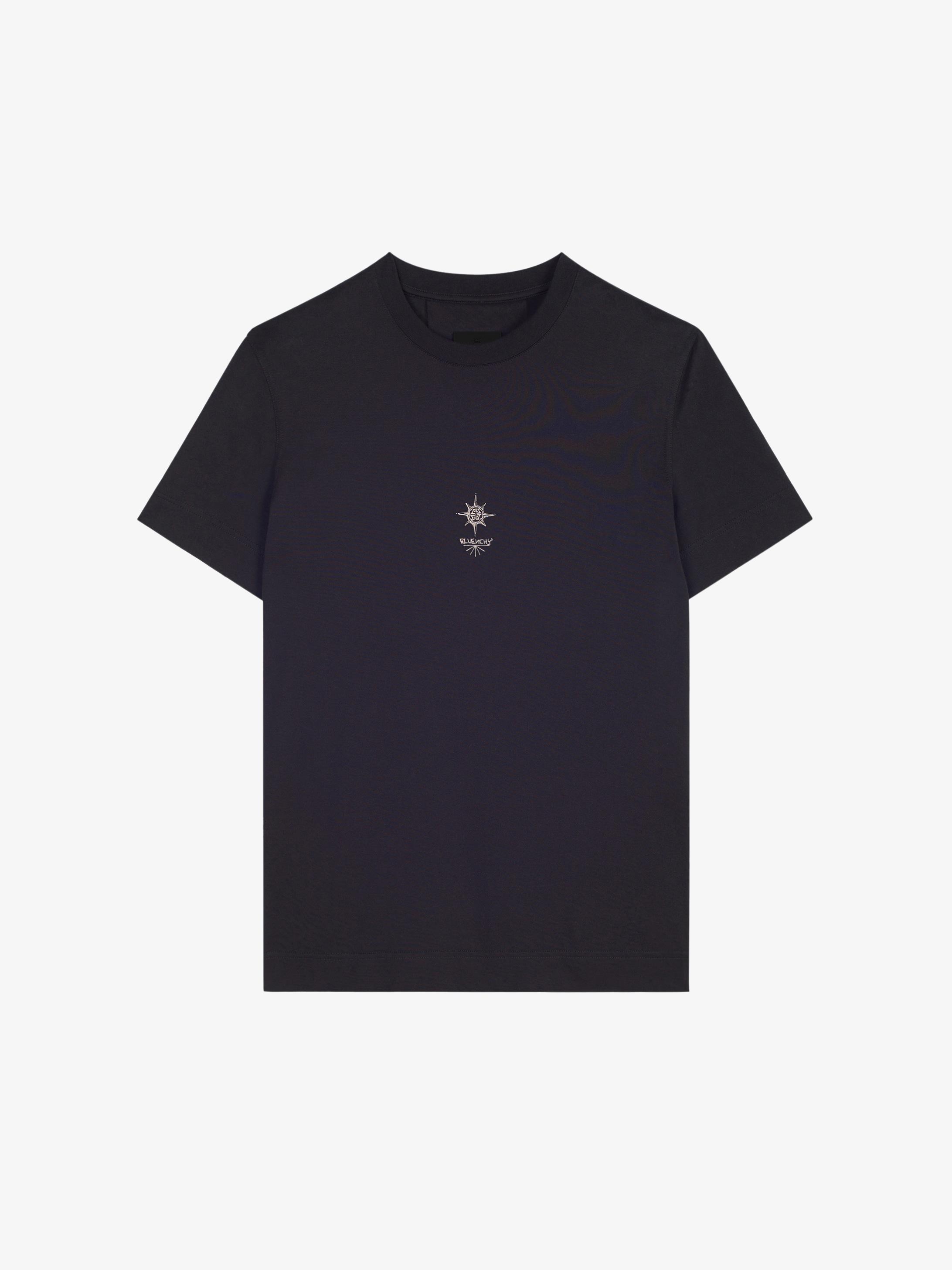 T-shirt slim fit con croce