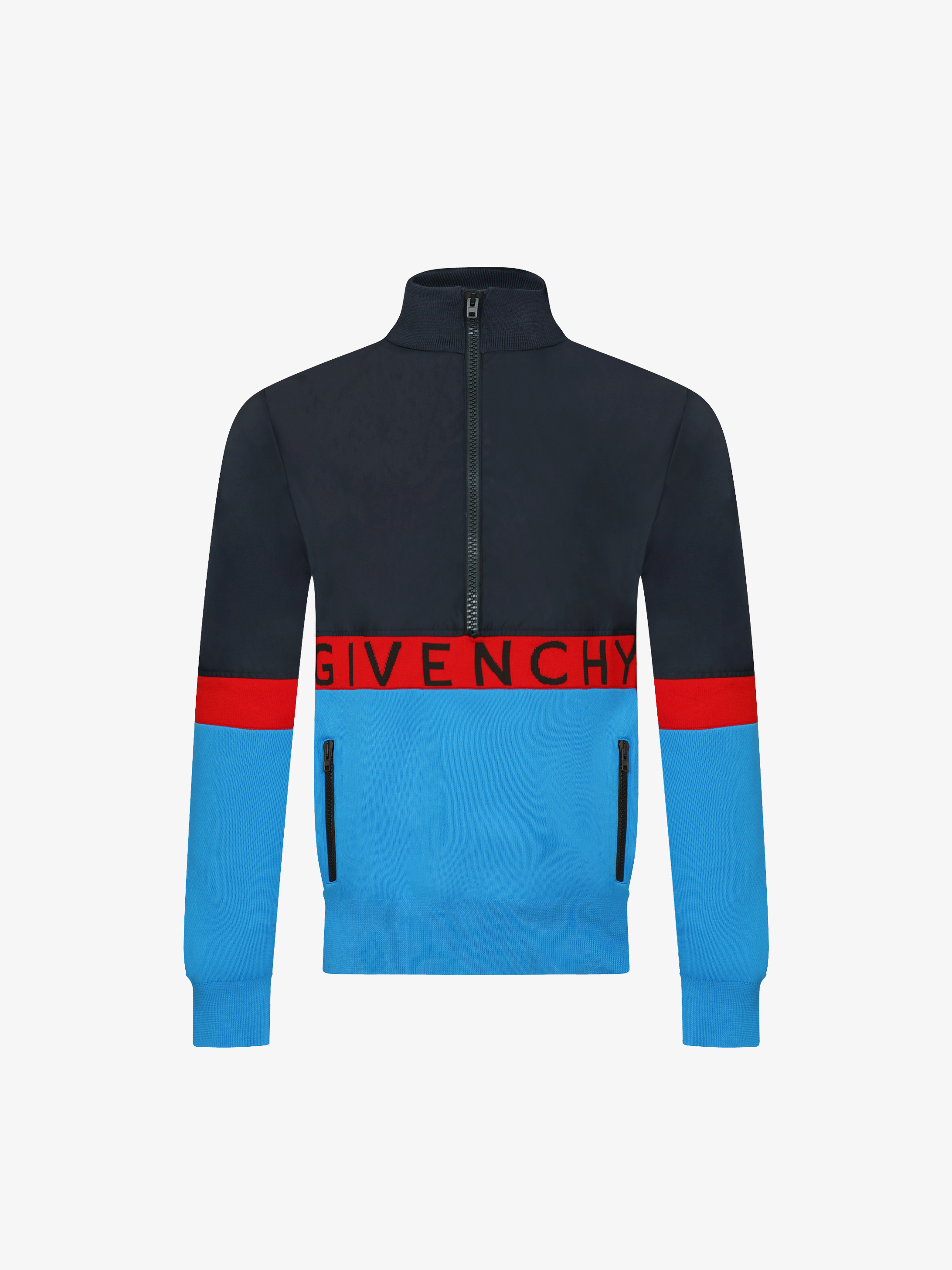 GIVENCHY color block windbreaker