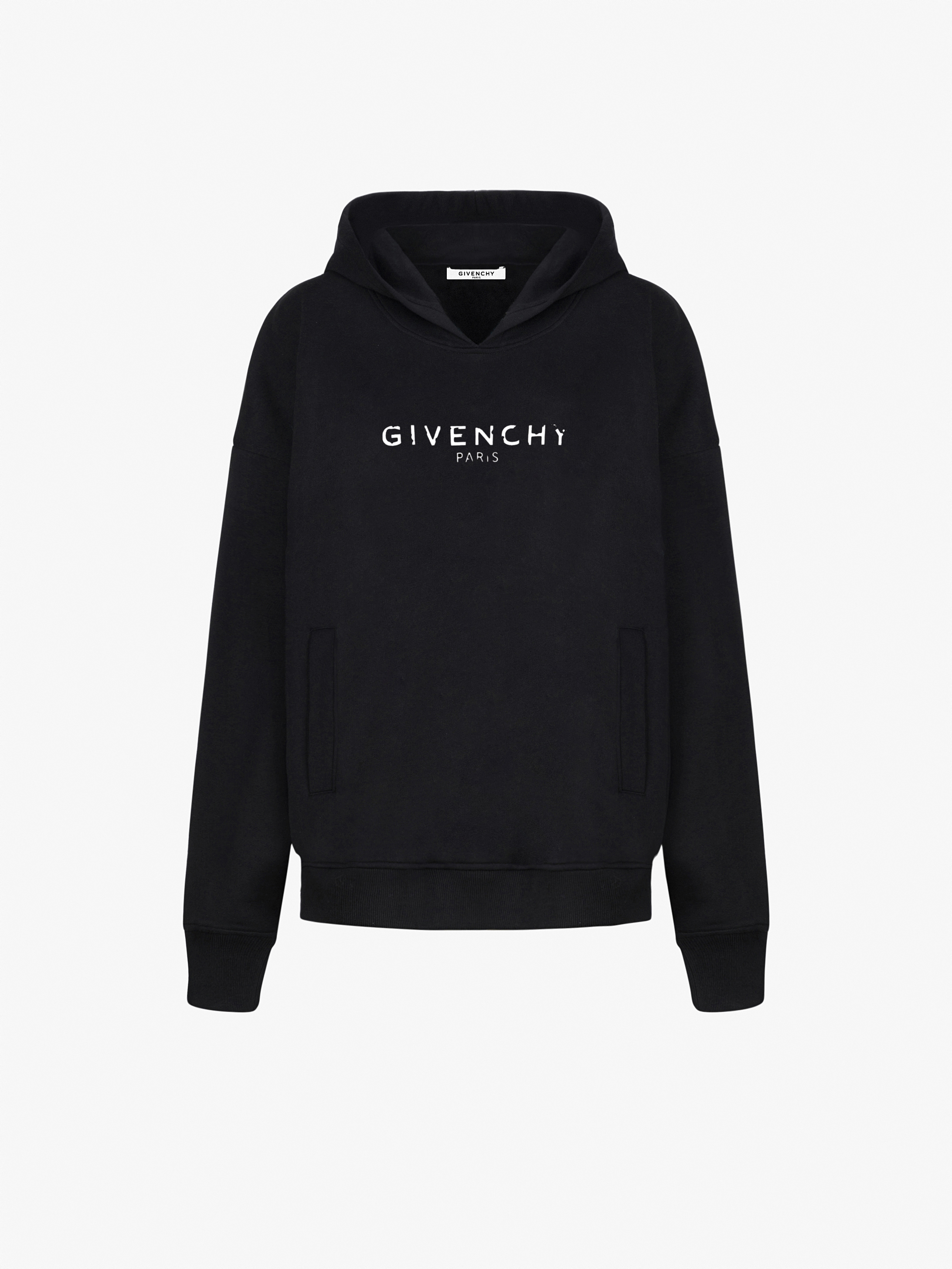 GIVENCHY PARIS oversized vintage hoodie