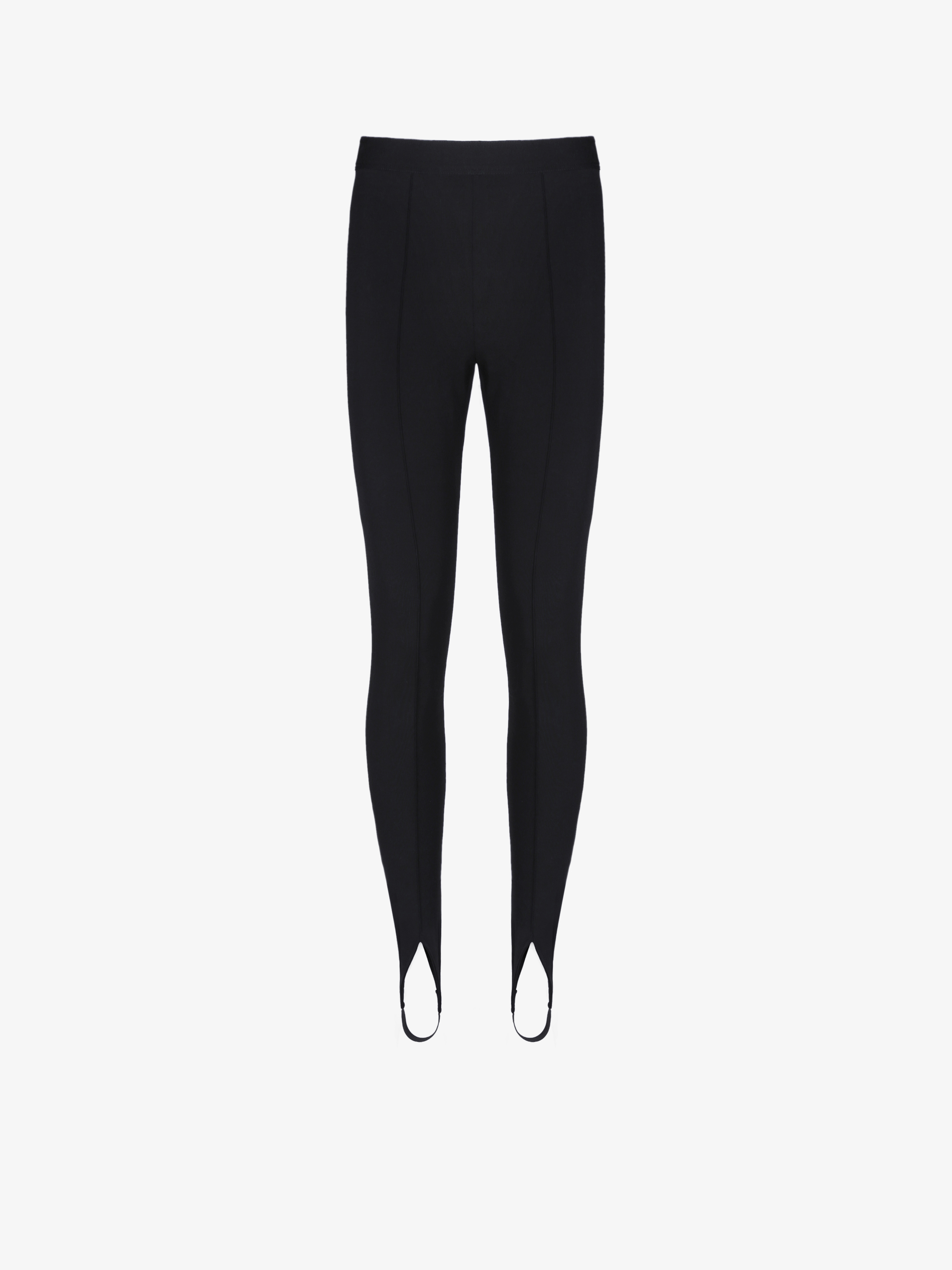 Stirrup leggings in jersey