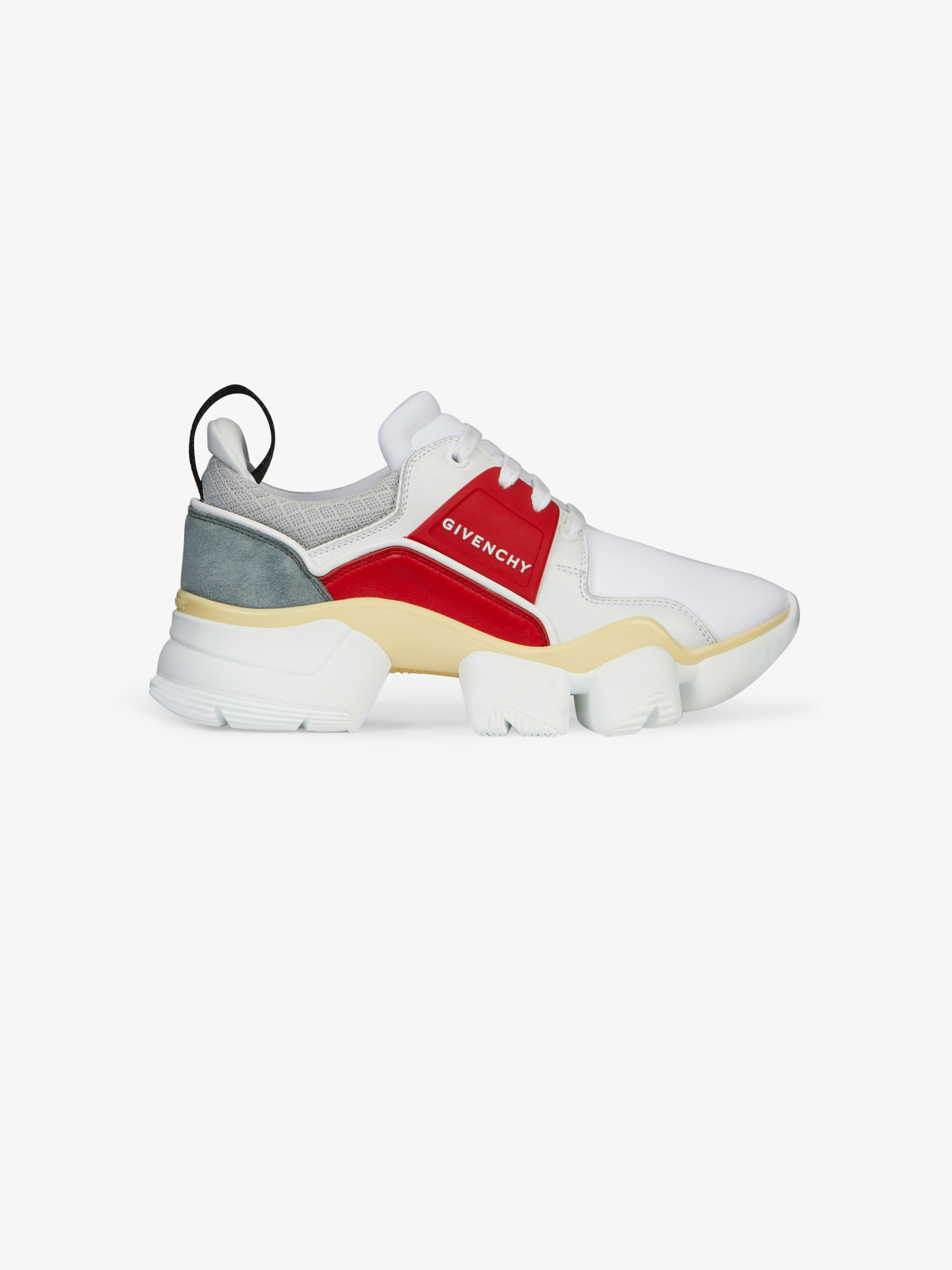 Jaw low-top sneakers in neoprene and leather