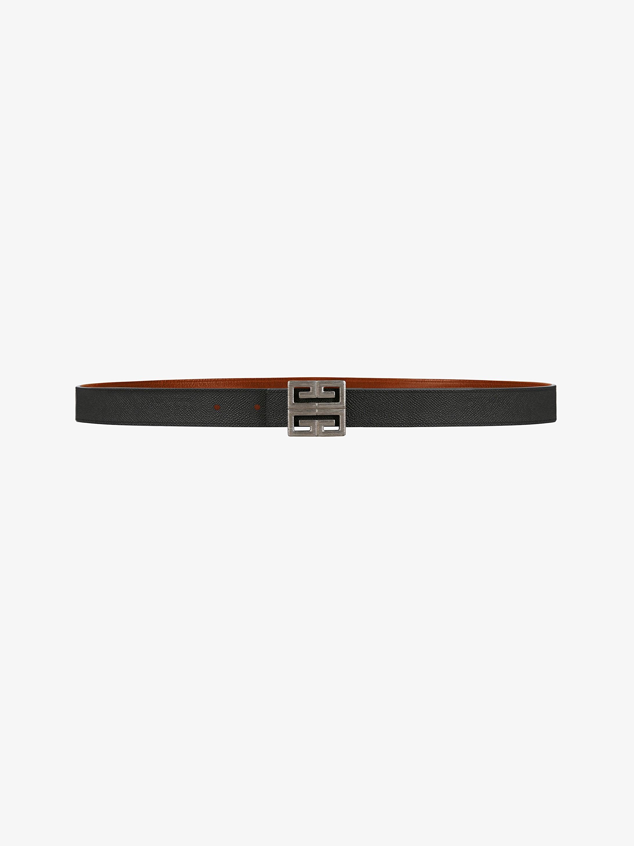 4G reversible belt
