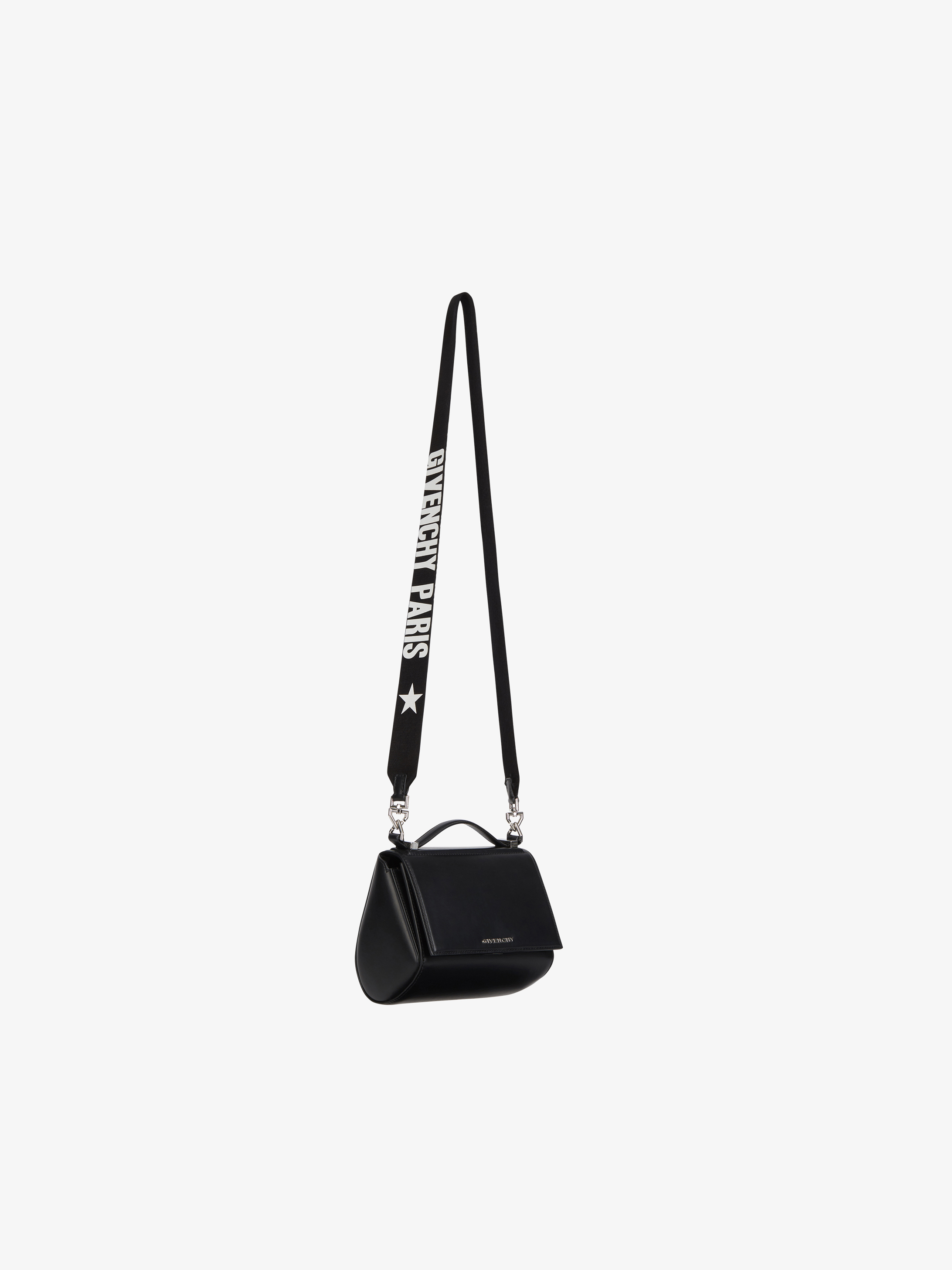 Mini Pandora Box bag with GIVENCHY PARIS strap