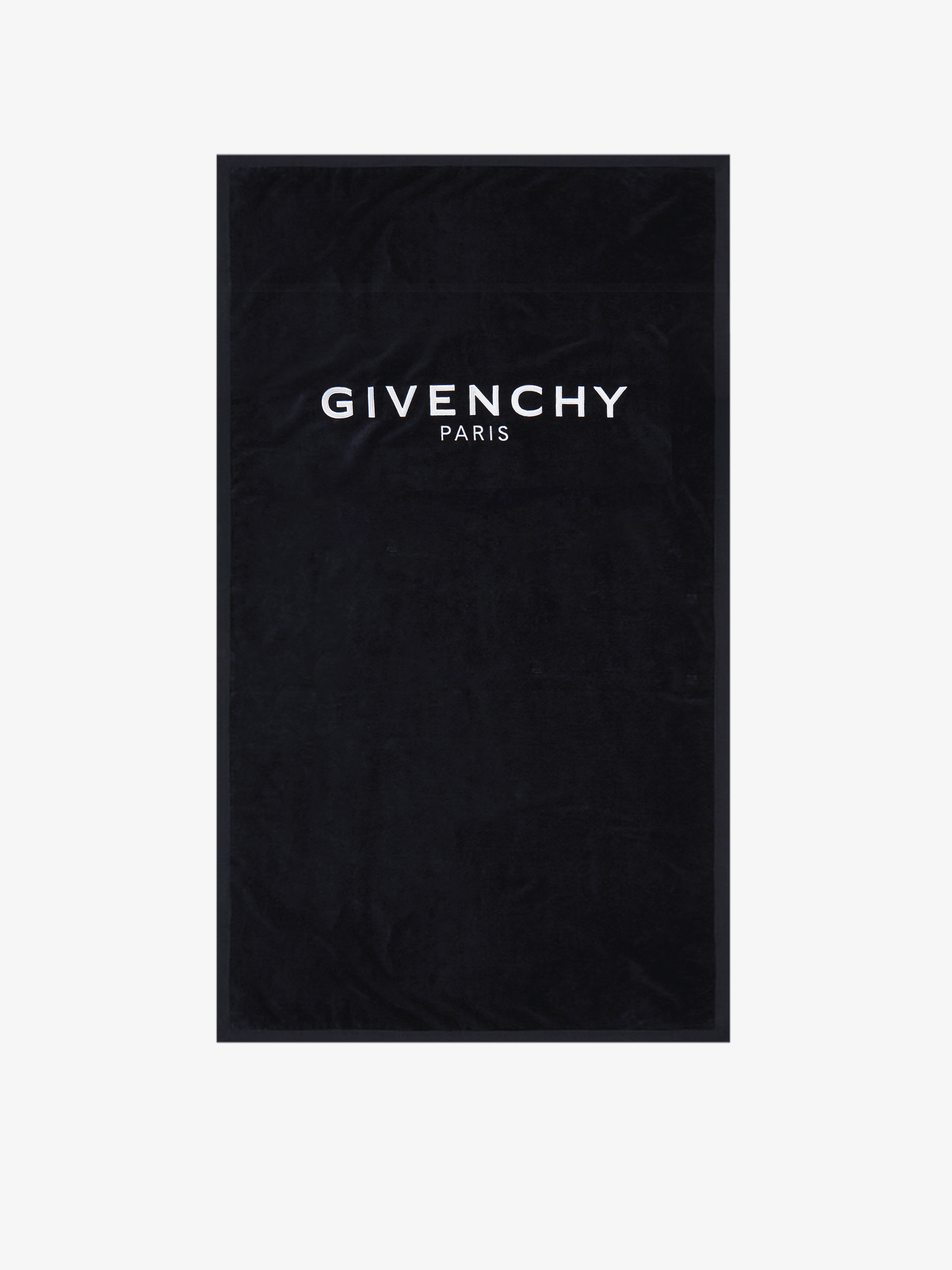 GIVENCHY PARIS beach towel