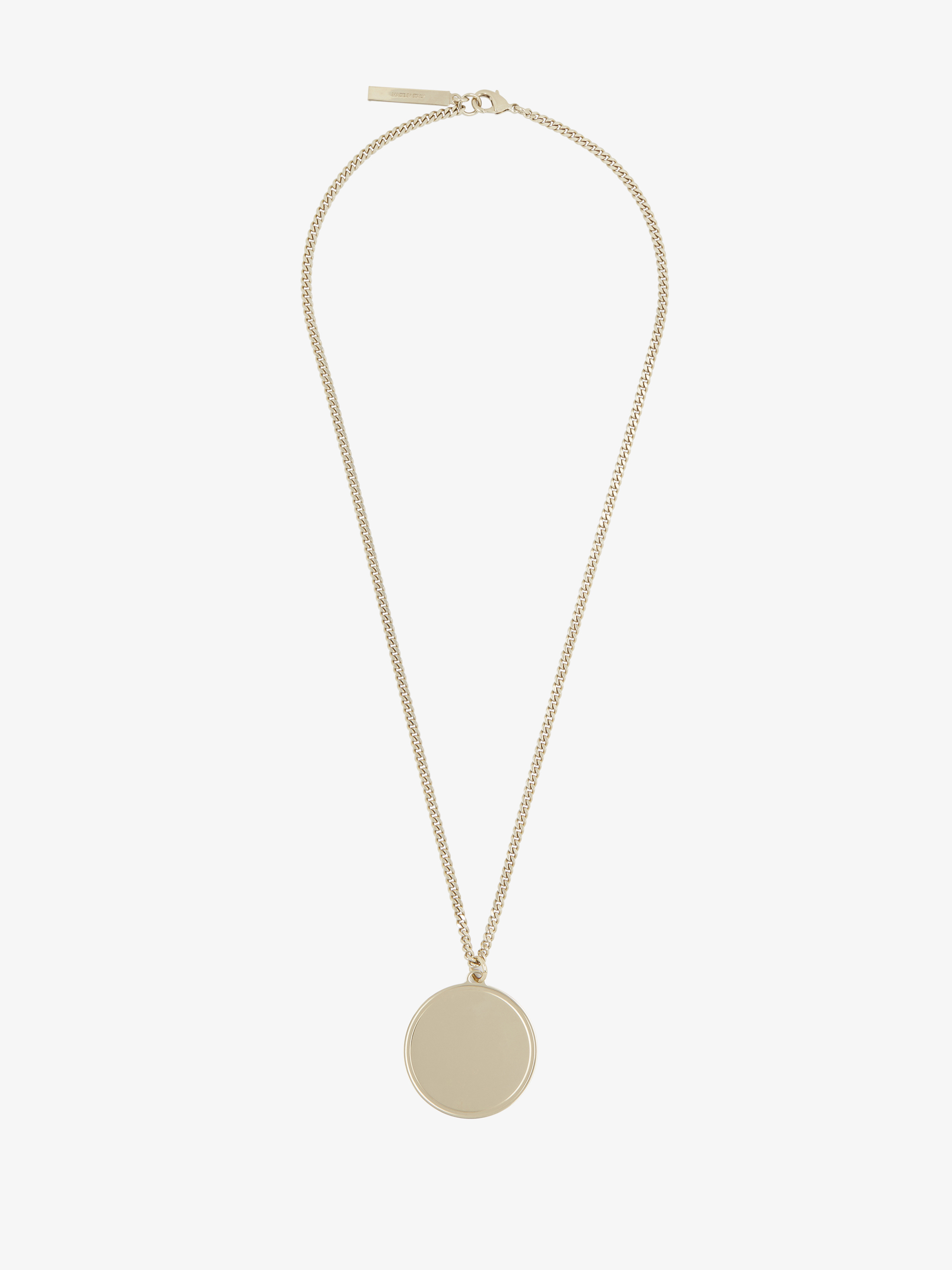 Small G-Ometric Round necklace