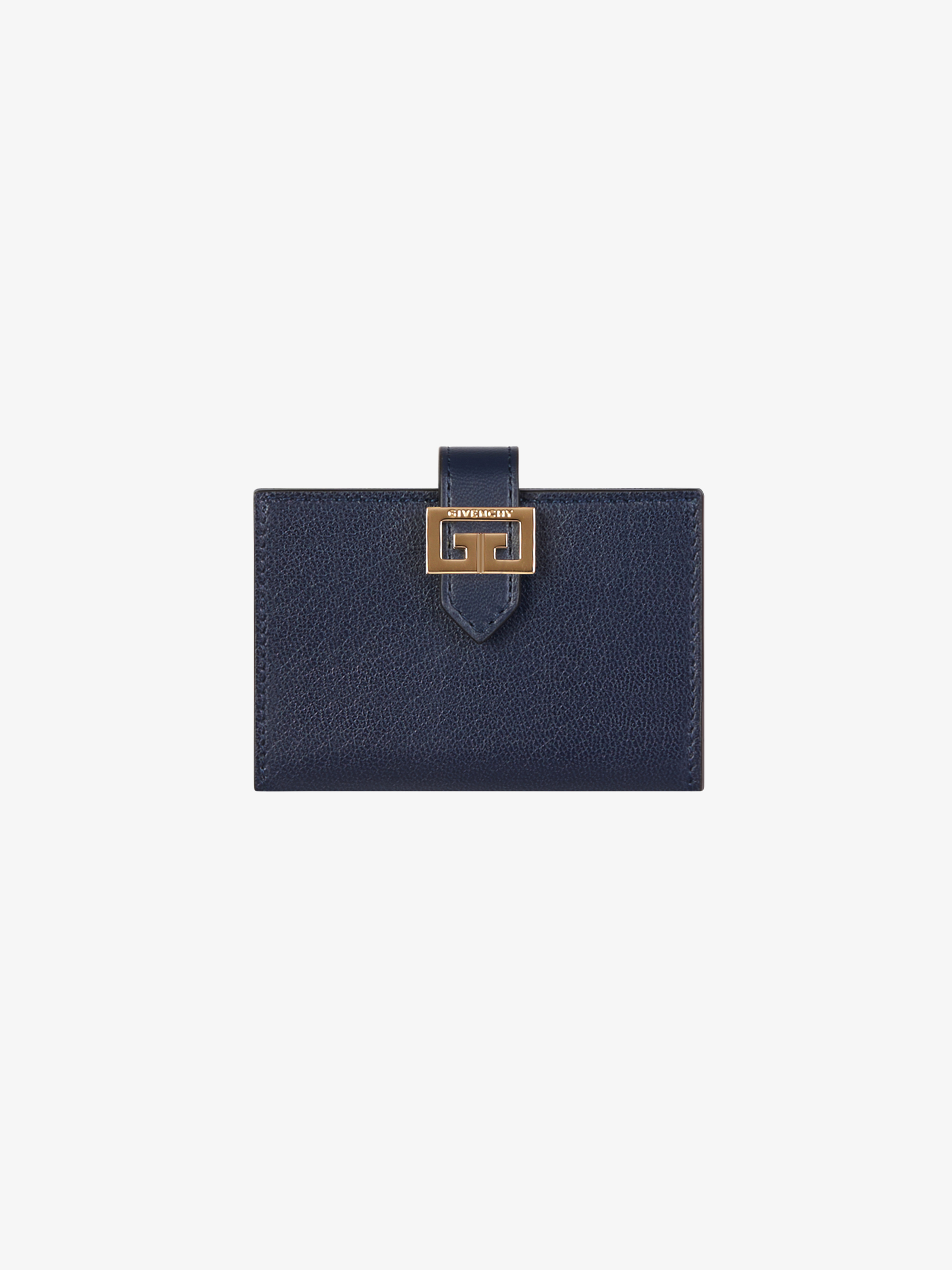 GV3 wallet in smooth leather