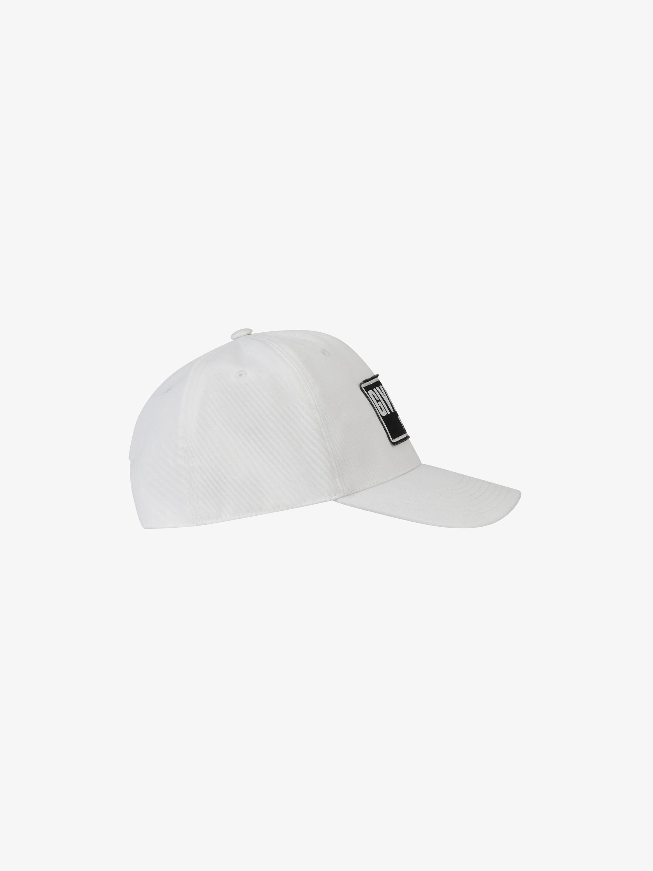 GIVENCHY PARIS patch cap
