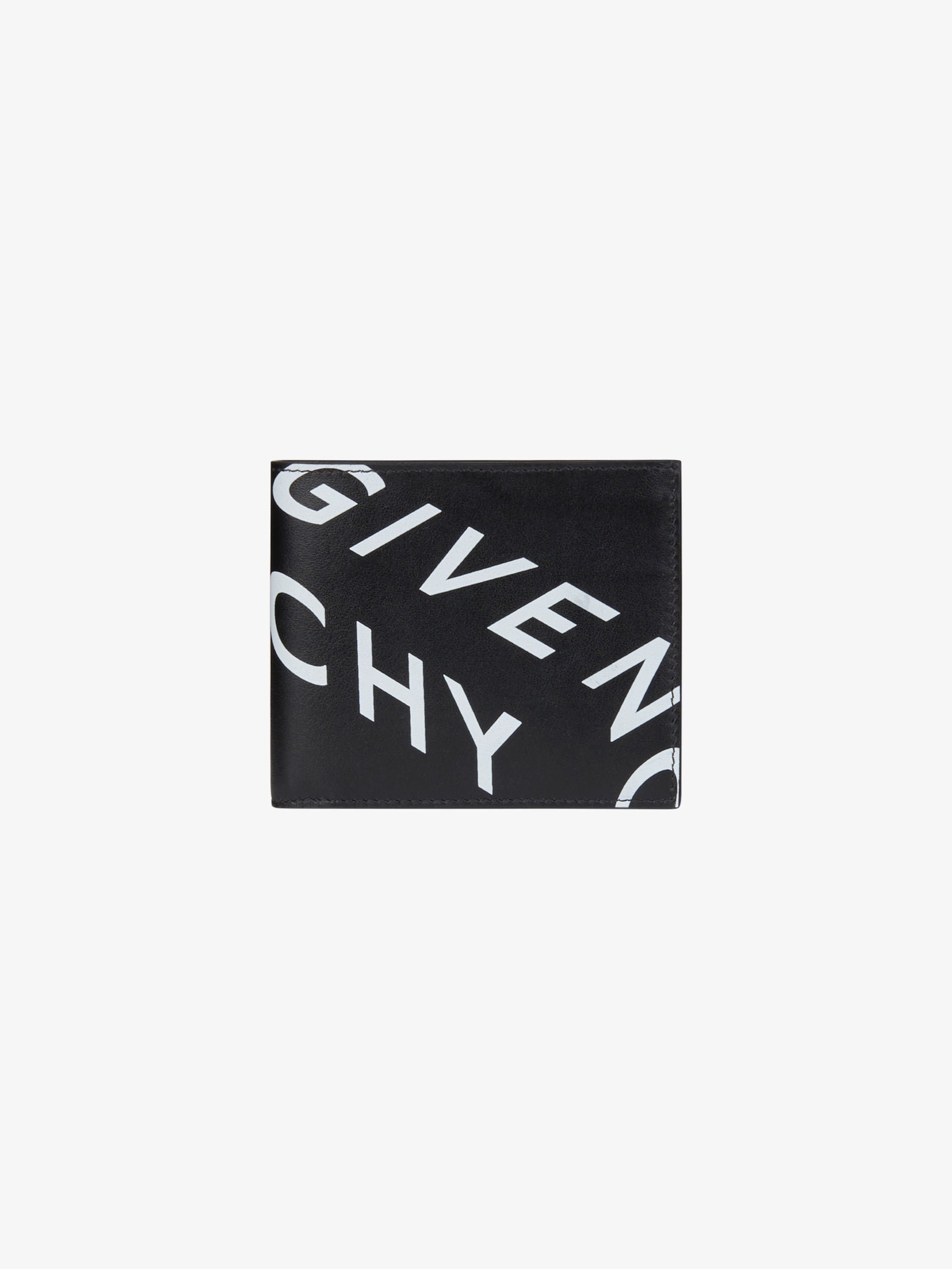 GIVENCHY Refracted wallet in leather
