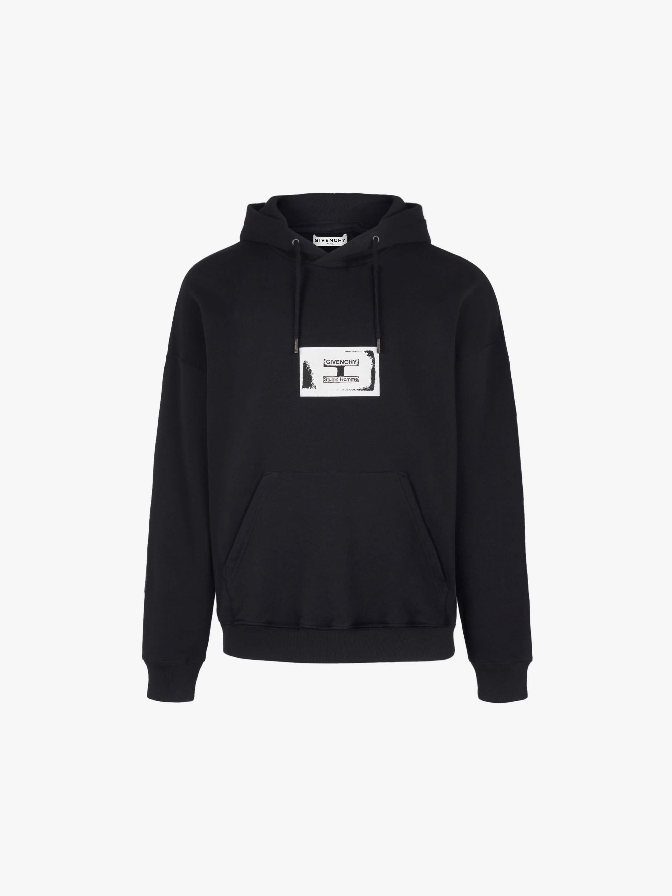 GIVENCHY Studio Homme hoodie with patch