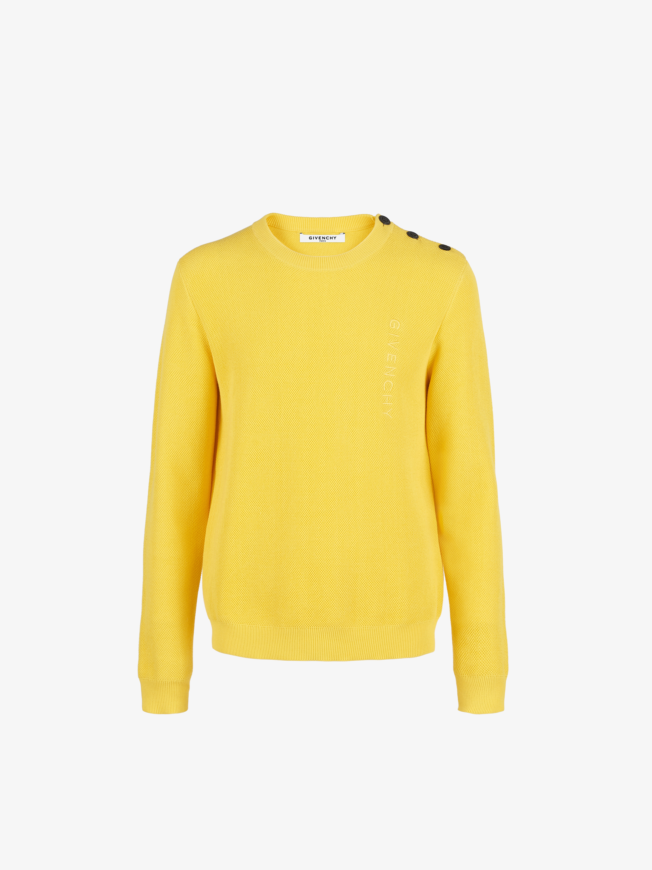 GIVENCHY sweater with 4G buttons