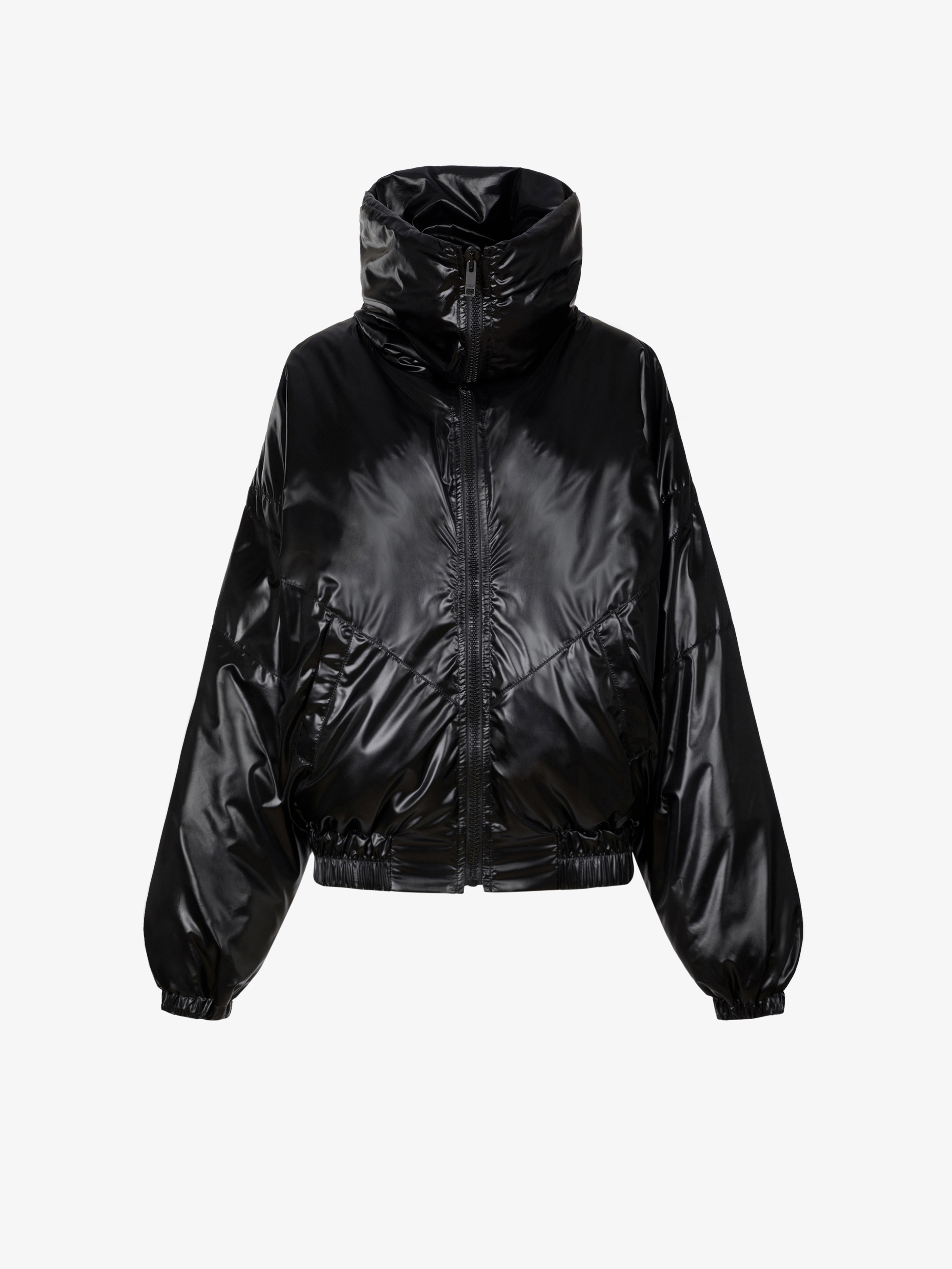 GIVENCHY puffa jacket with oversized collar