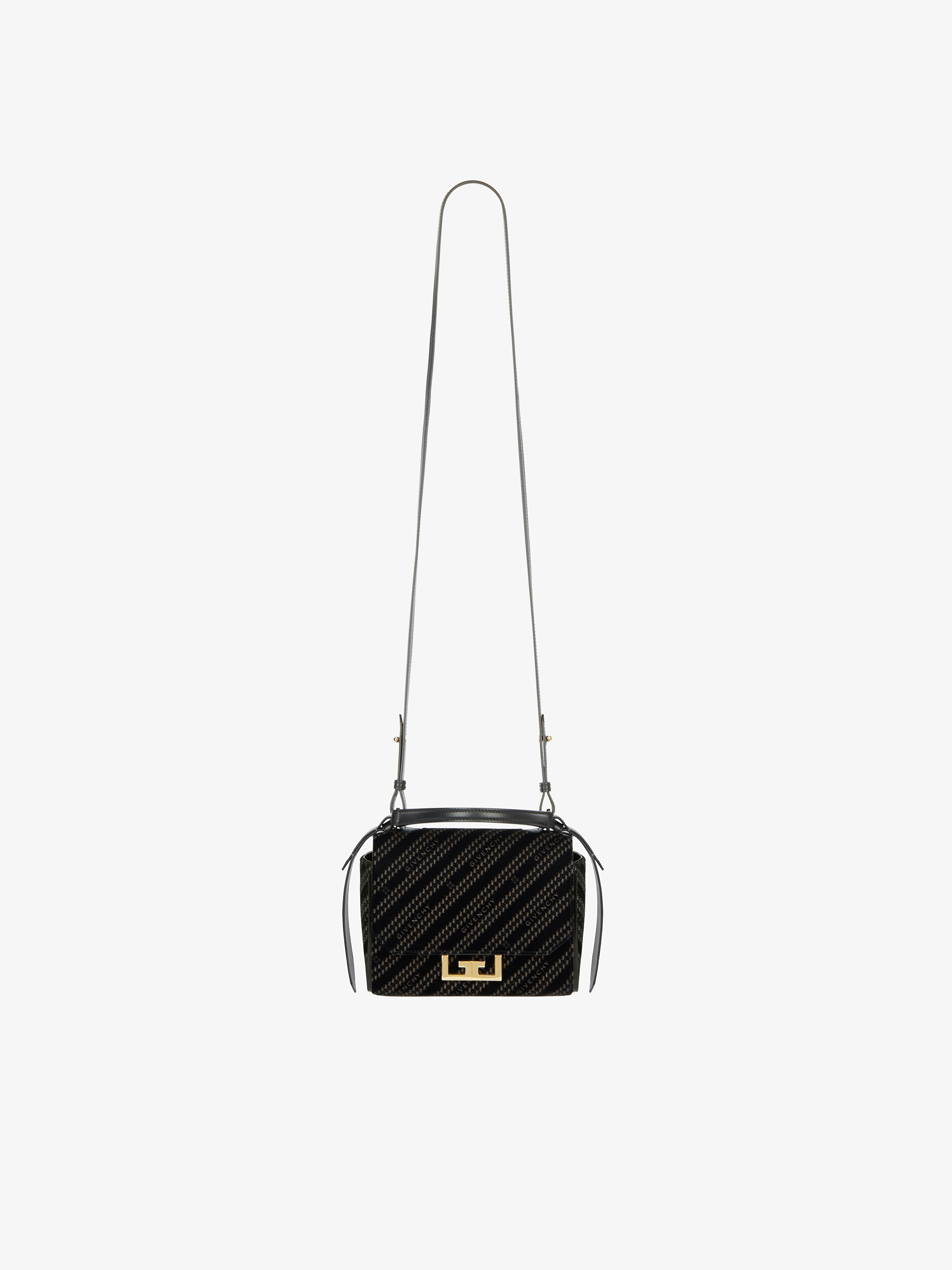 GIVENCHY chain mini Eden bag in velvet